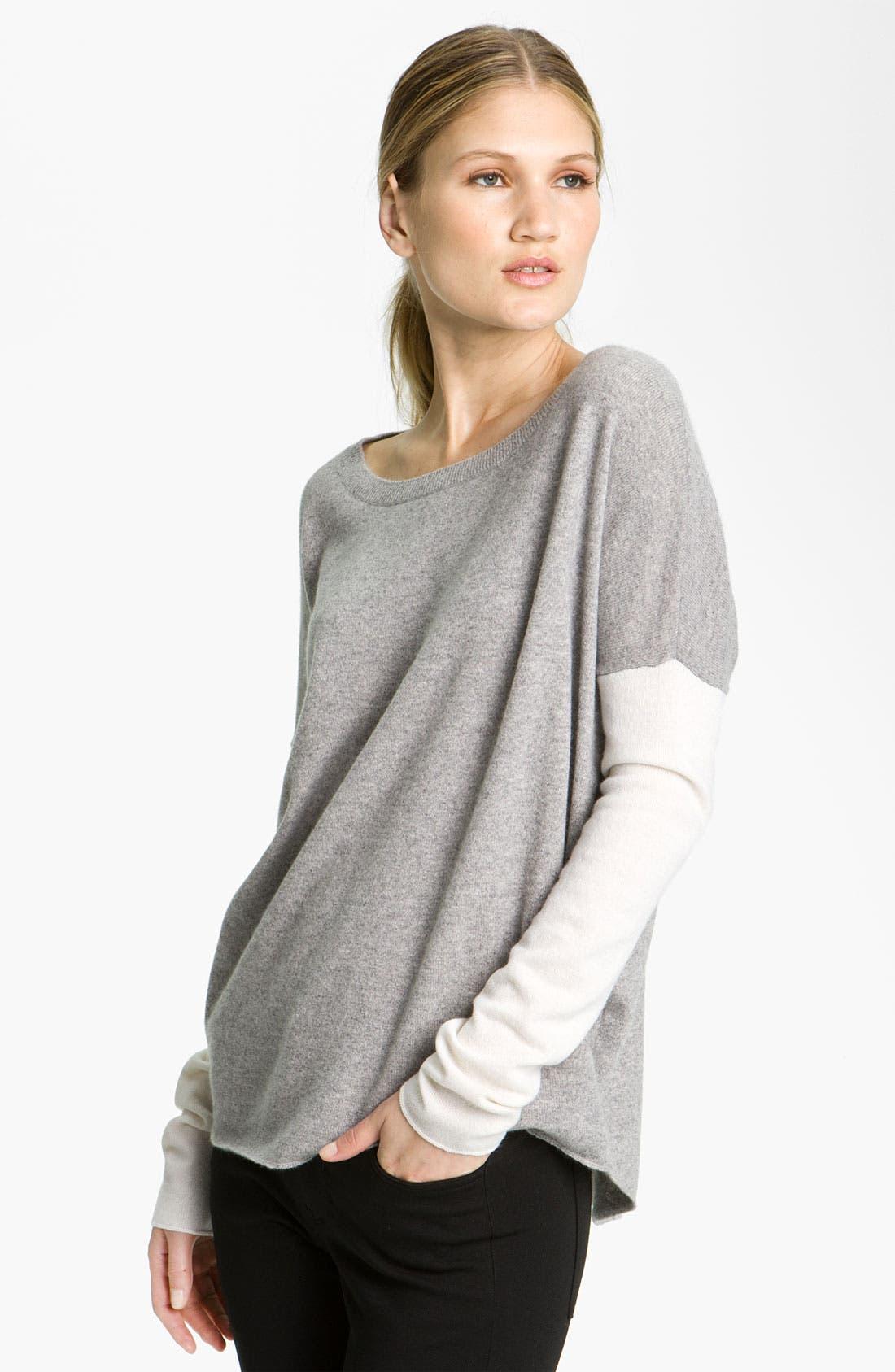 Main Image - Vince Colorblock Crewneck Sweater