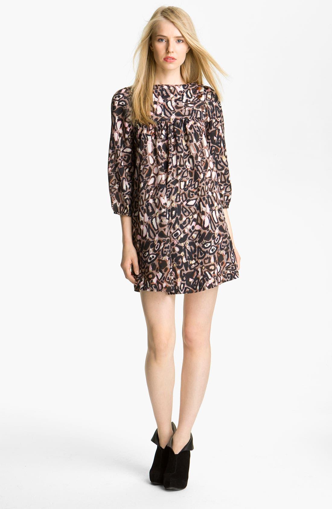 Alternate Image 1 Selected - Twenty8Twelve 'Samoury' Stretch Crêpe de Chine Dress