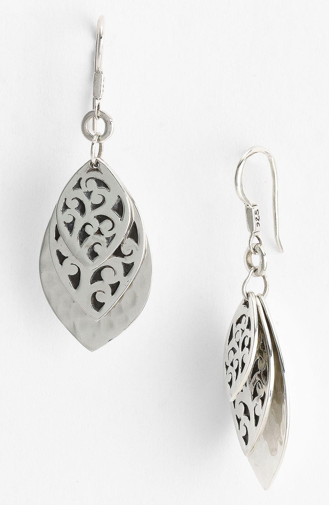 Alternate Image 1 Selected - Lois Hill Layered Petal Drop Earrings