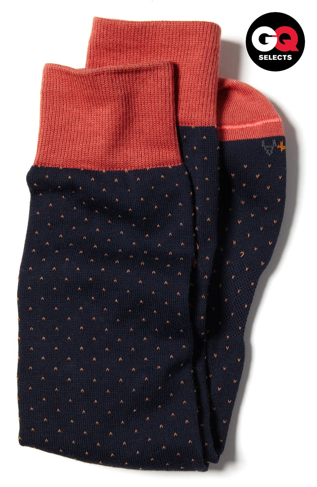 Alternate Image 1 Selected - hook + ALBERT Contrast Trim Socks