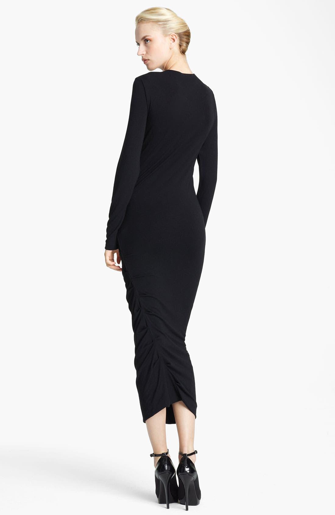 Alternate Image 2  - Donna Karan Collection Jersey Dress
