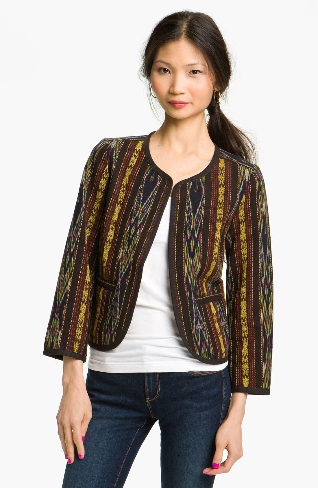 Alternate Image 1 Selected - Rubbish® Ikat Jacket (Juniors)