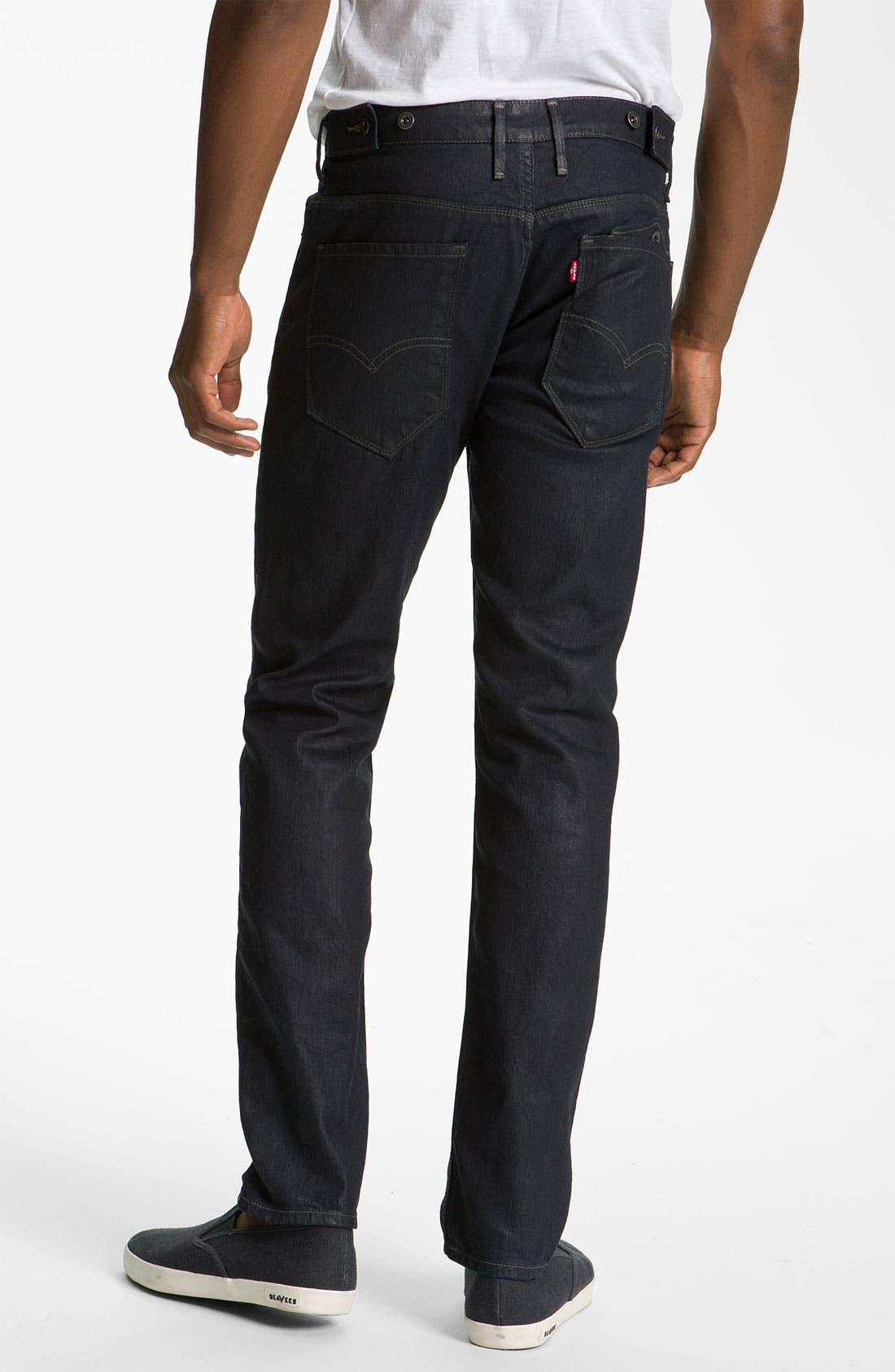 Alternate Image 1 Selected - Levi's® '511™' Coated Slim Straight Leg Jeans (Dean)