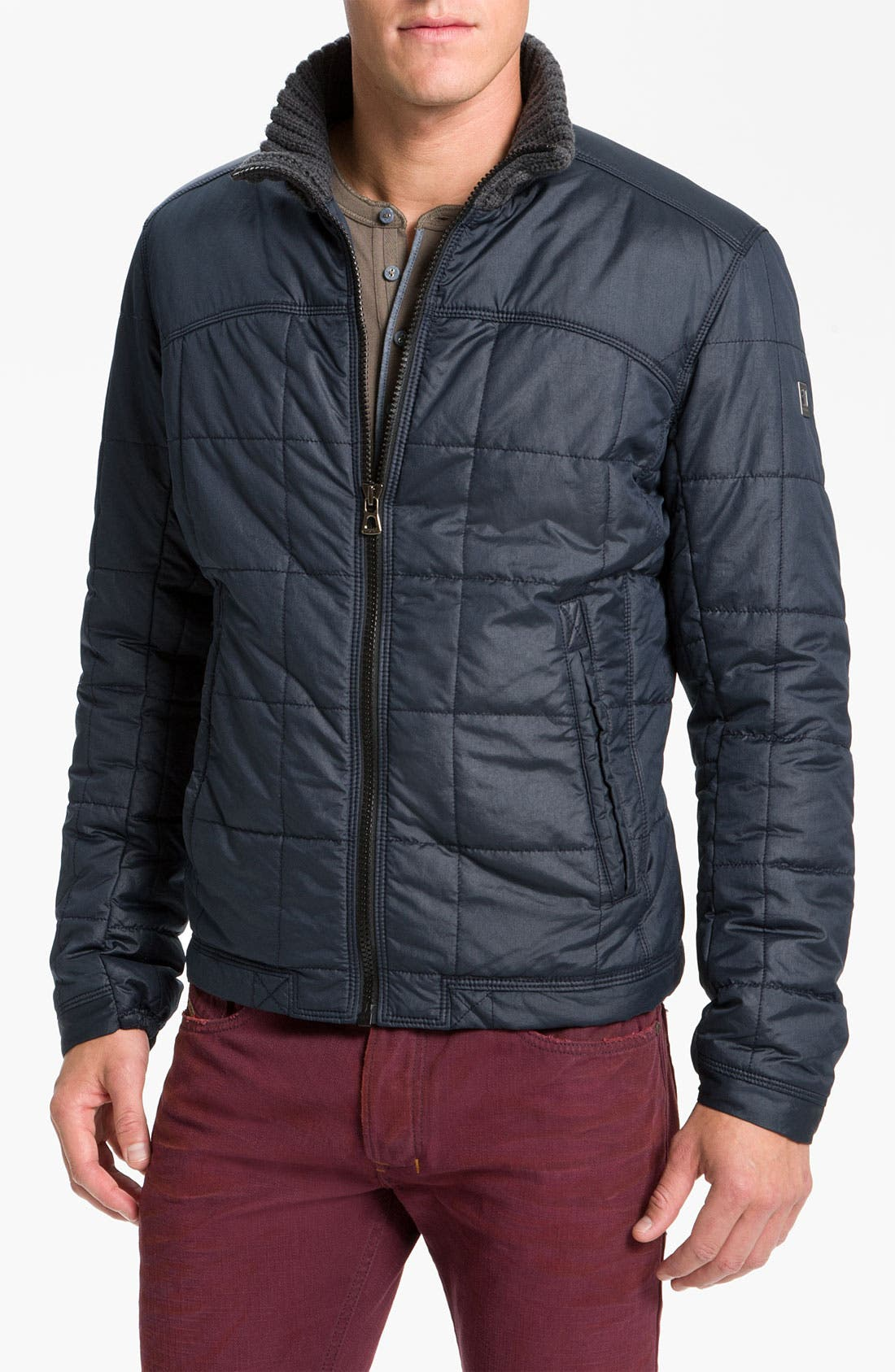 Alternate Image 1 Selected - BOSS Orange 'OTO1-W' Quilted Jacket