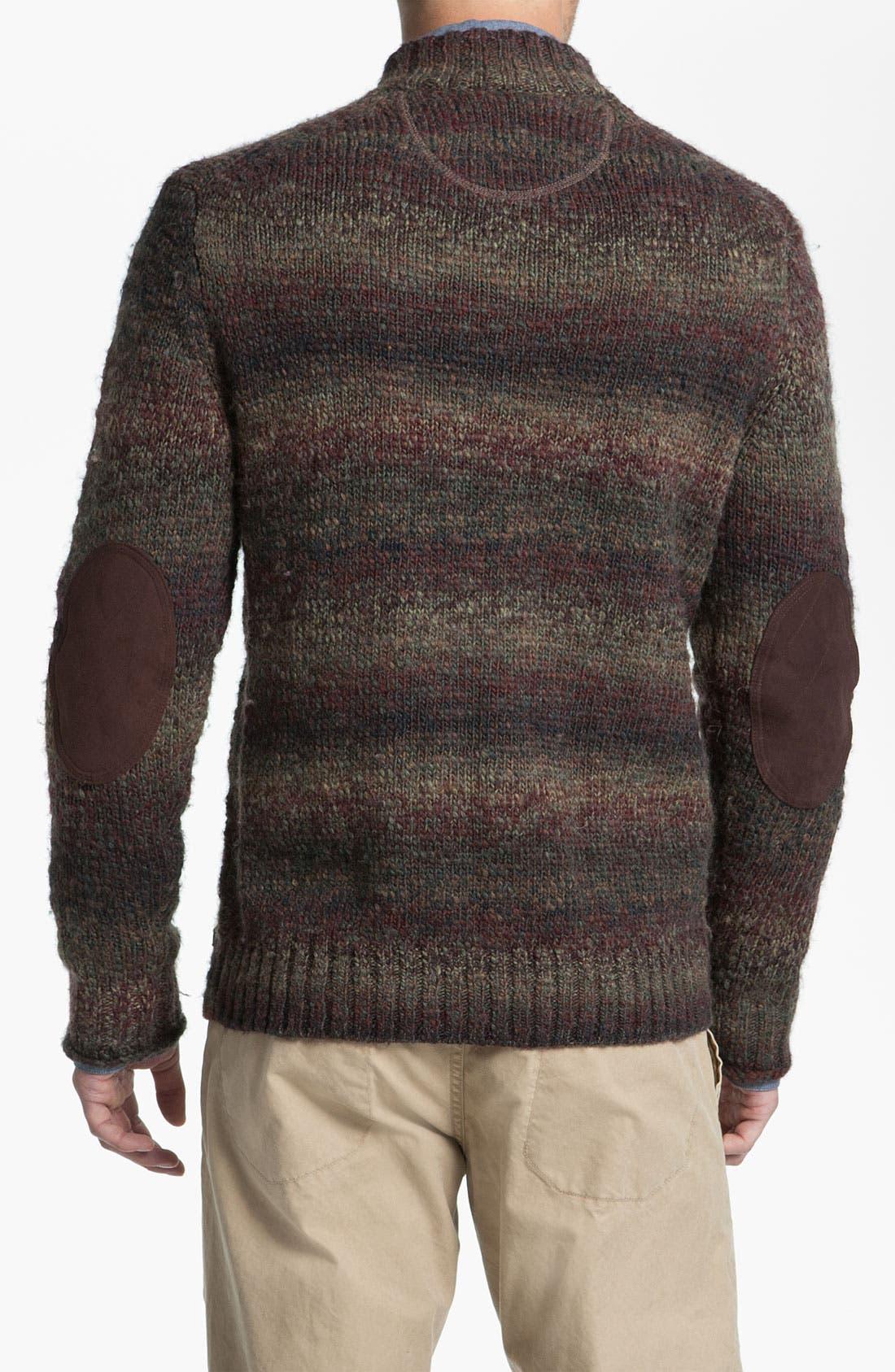 Alternate Image 2  - Hickey Freeman Mock Neck Sweater