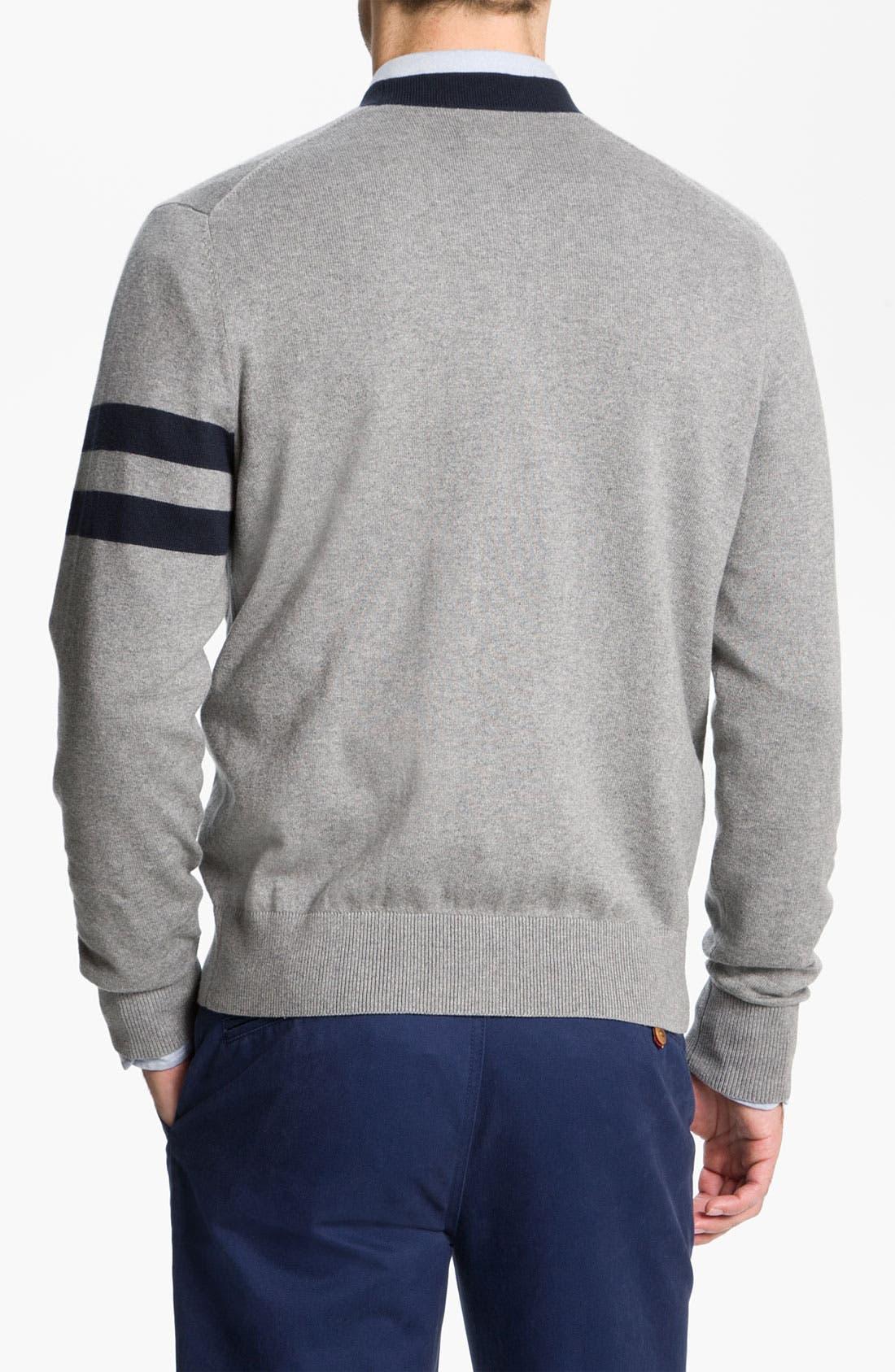 Alternate Image 2  - Brooks Brothers Cotton & Cashmere Cardigan
