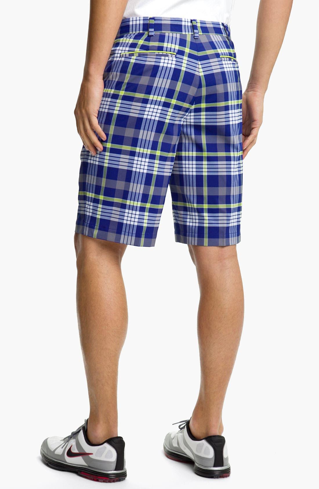 Alternate Image 2  - Nike Golf Dri-FIT Plaid Shorts
