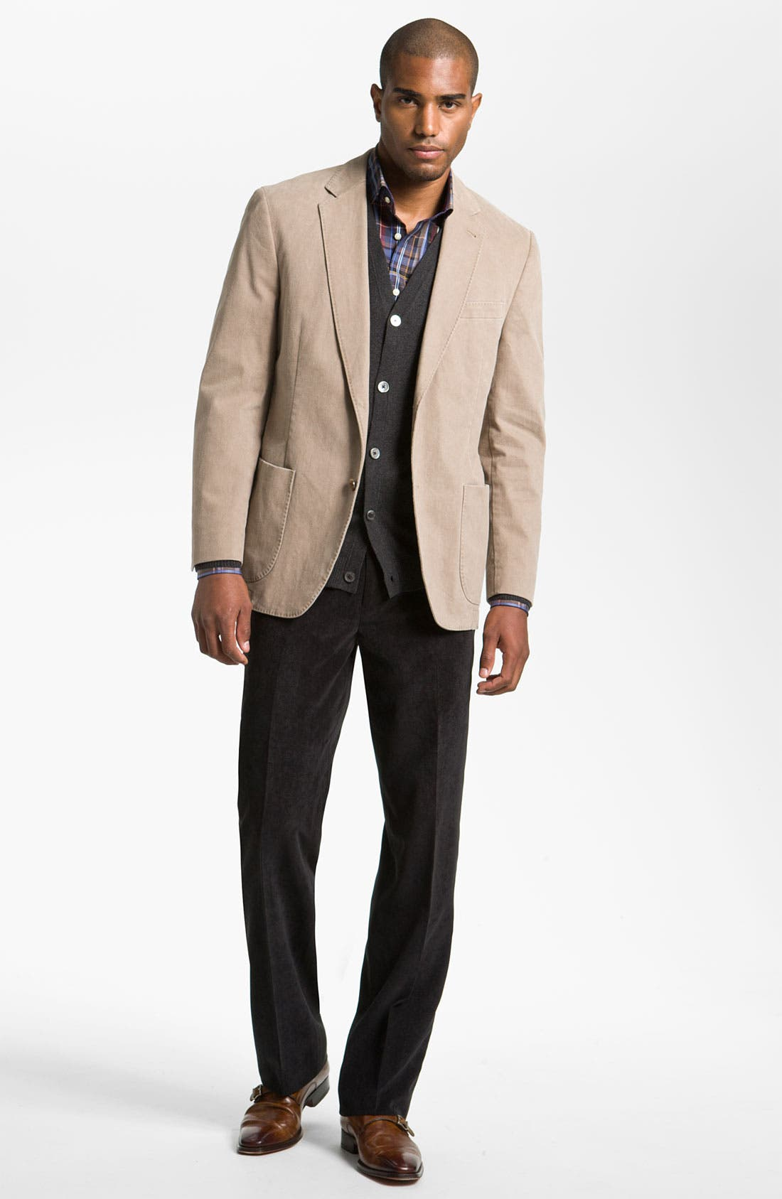 Alternate Image 4  - Kroon Brushed Cotton Sportcoat