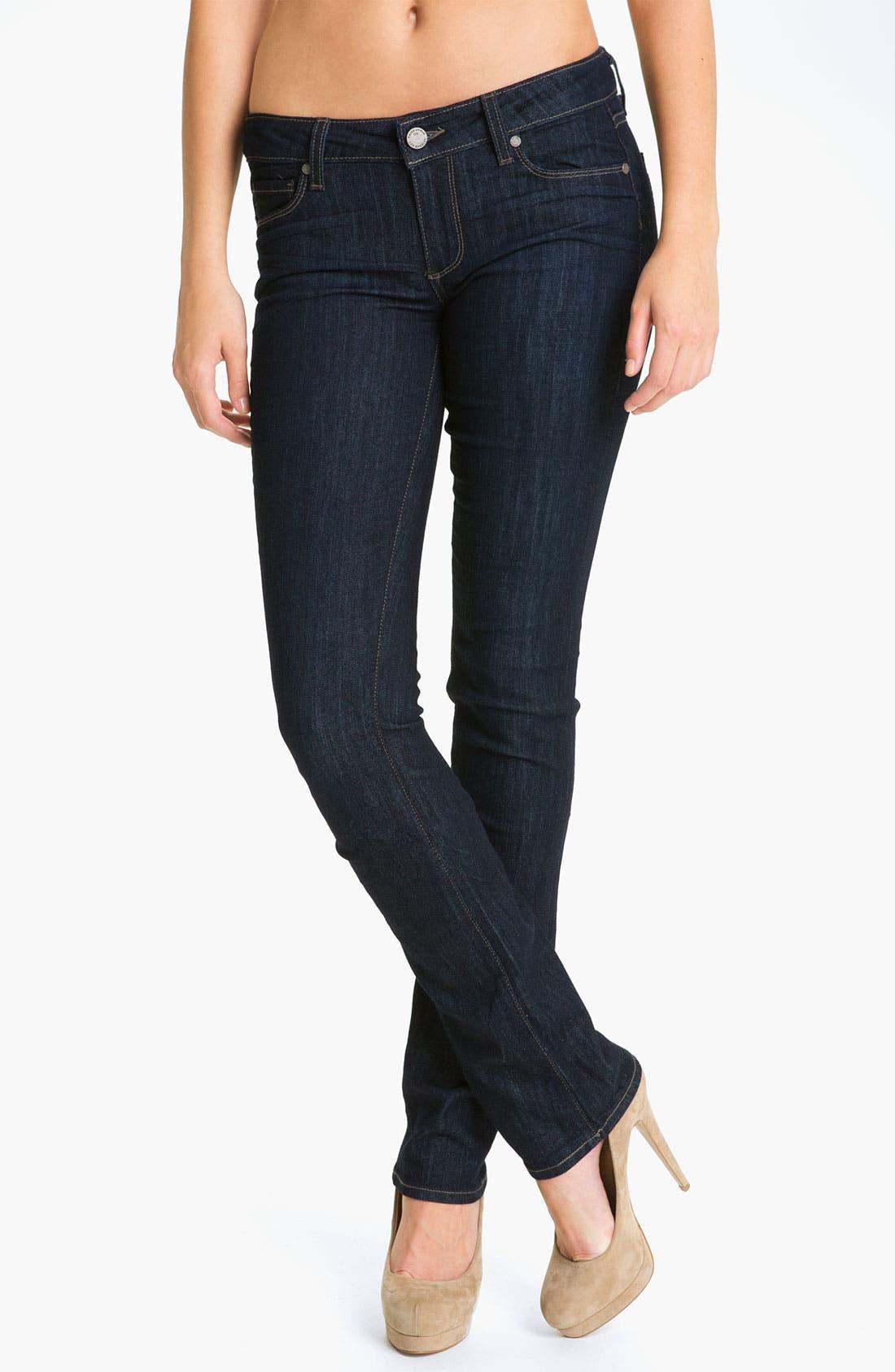 Alternate Image 1 Selected - Paige Denim 'Skyline' Straight Leg Stretch Jeans (Dream)