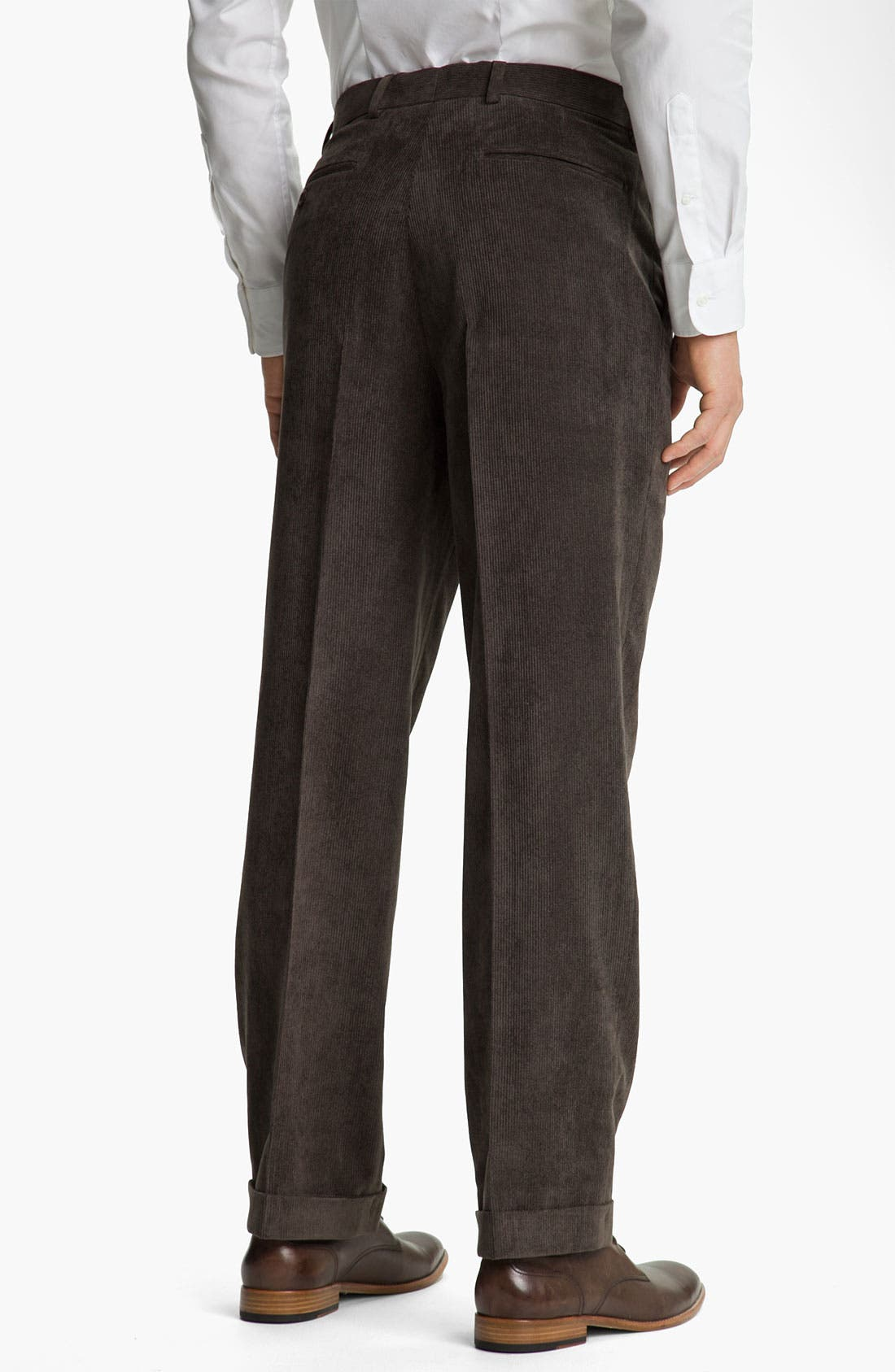 Alternate Image 2  - Linea Naturale 'Micro-Aire' Corduroy Trousers