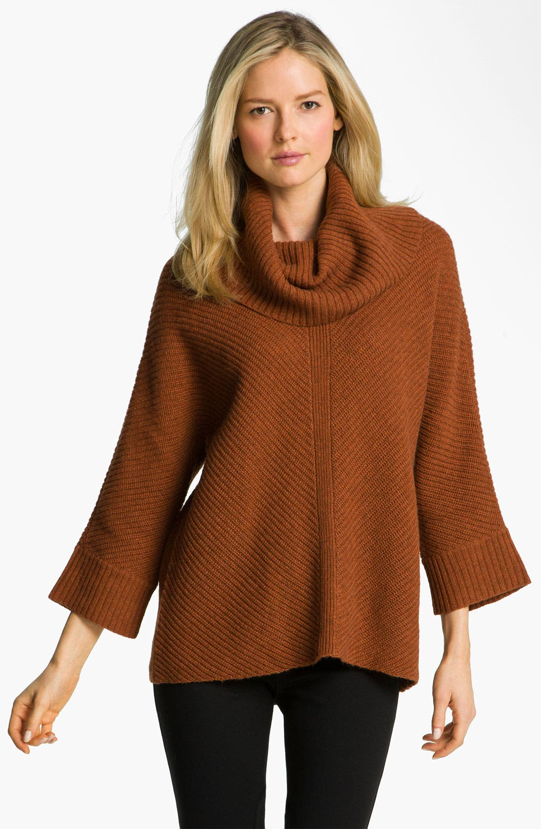 Alternate Image 1 Selected - Eileen Fisher Supersoft Cowl Neck Sweater