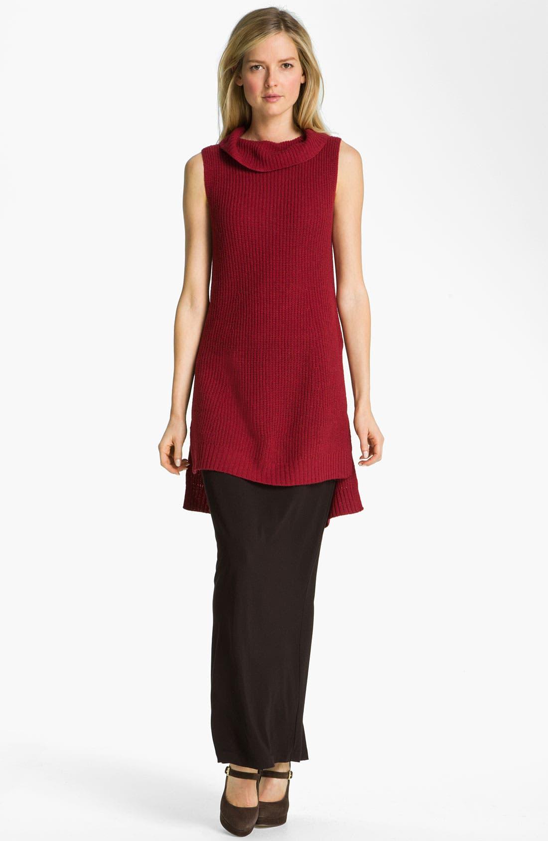 Alternate Image 4  - Eileen Fisher Supersoft Yak Wool Blend Tunic Dress