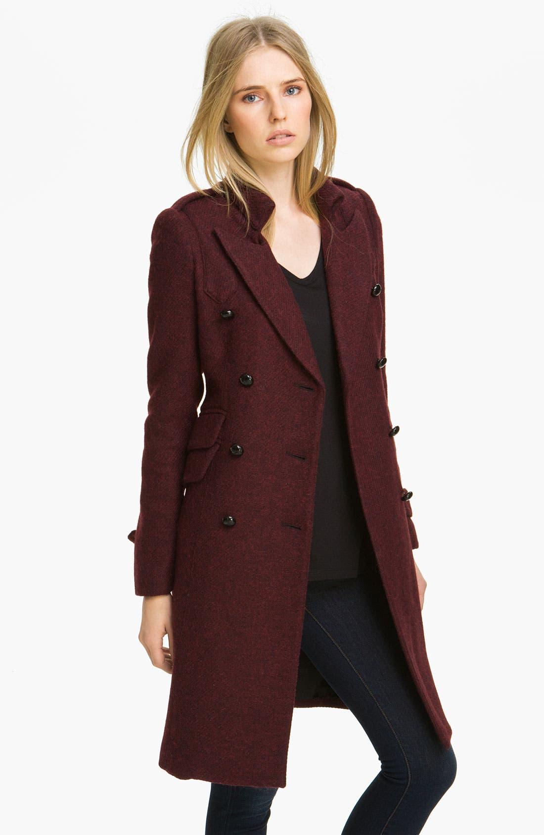 Alternate Image 1 Selected - Smythe Double Breasted Wool Blend Coat