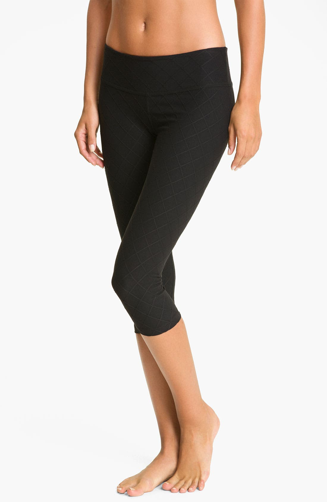 Alternate Image 1 Selected - Beyond Yoga Quilted Original Legging