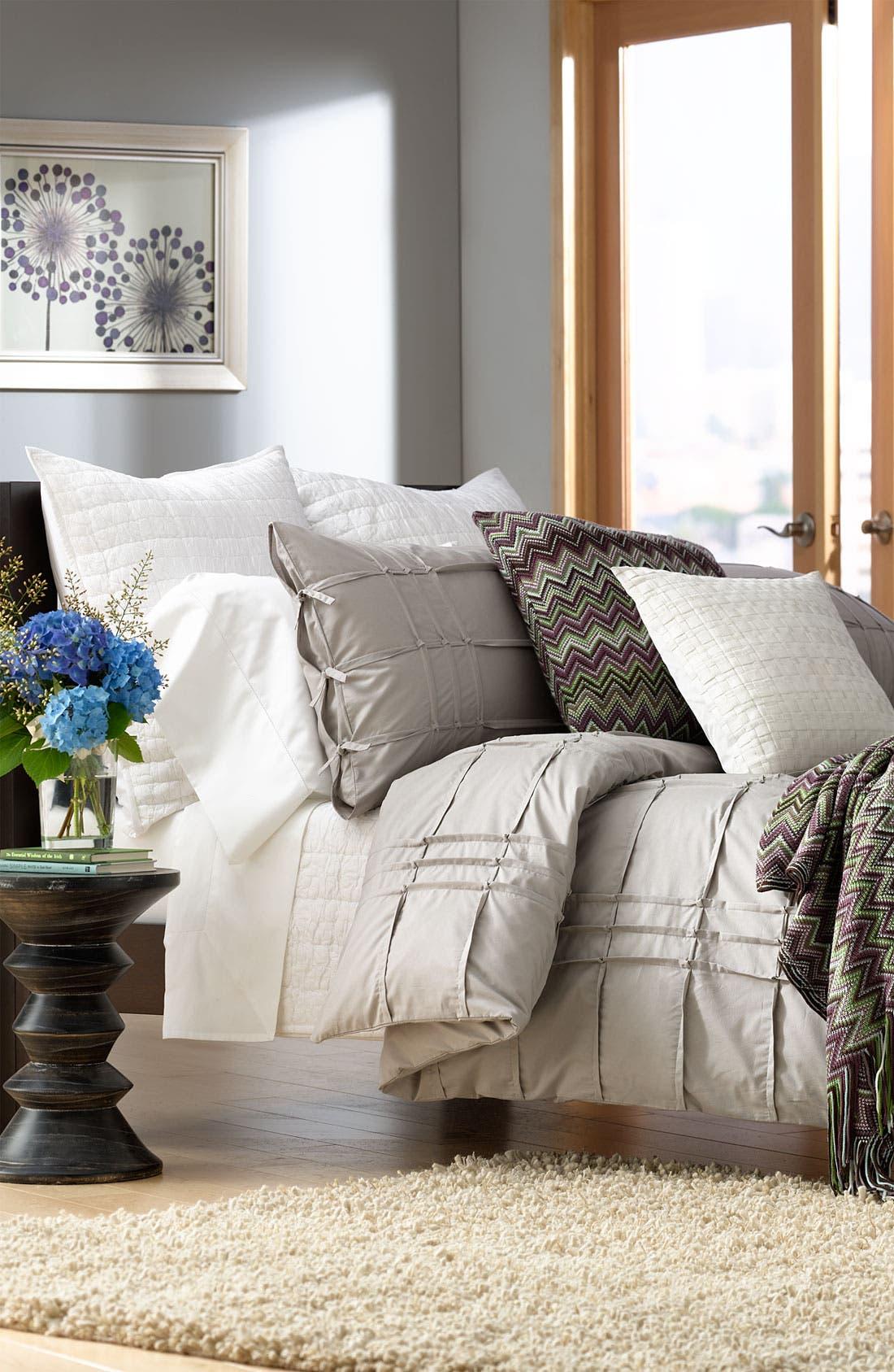 Alternate Image 3  - Kennebunk Home 'Caitlin' Chevron Knit Pillow