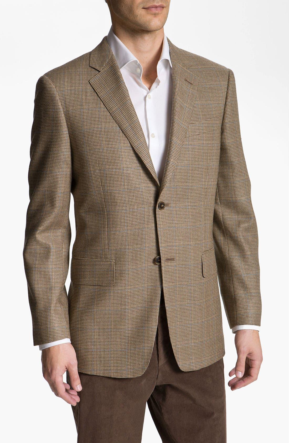 Alternate Image 1 Selected - John W. Nordstrom® Houndstooth Sportcoat