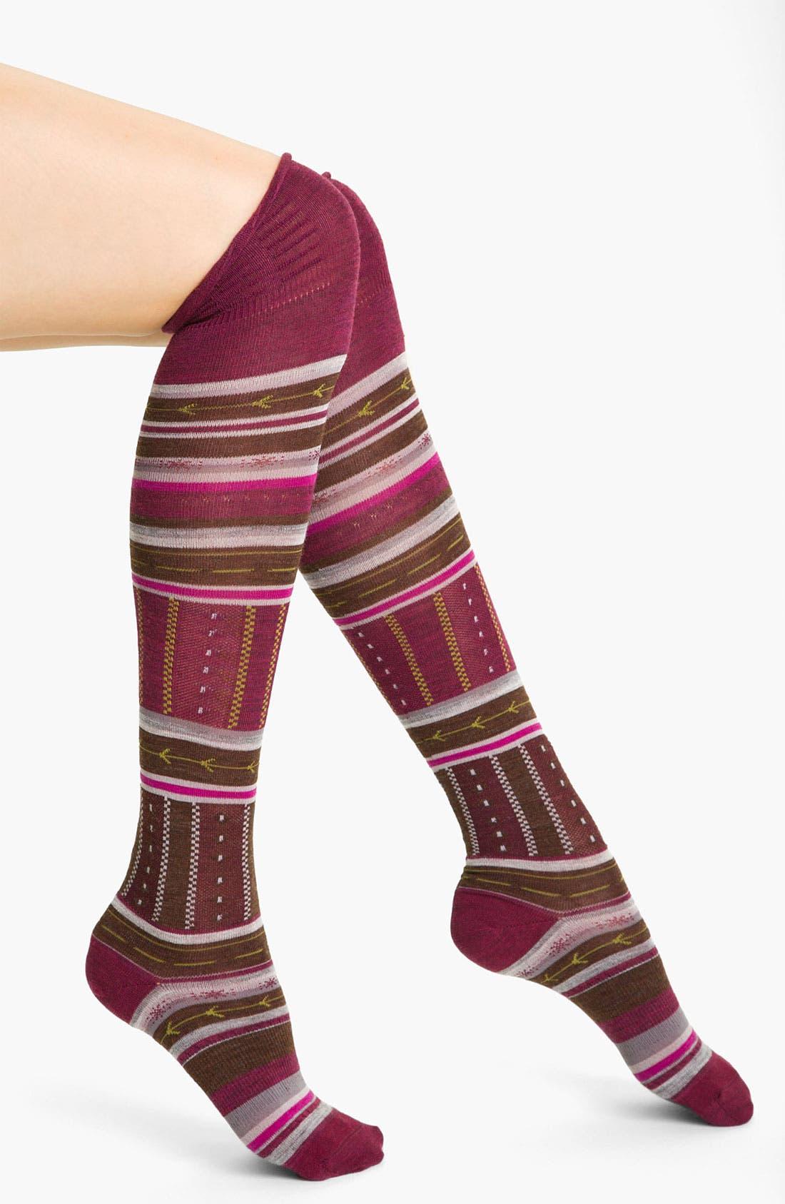 Main Image - Smartwool 'Gleaming Seedling' Knee Socks