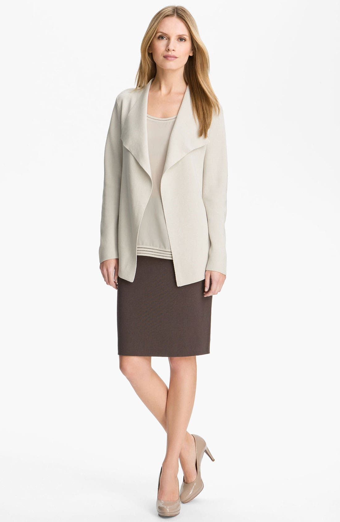 Alternate Image 4  - Eileen Fisher Silk & Cotton Knit Cardigan