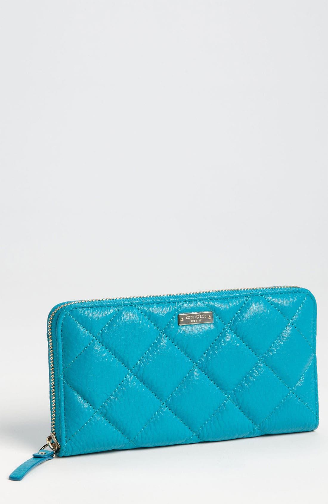 Main Image - kate spade new york 'gold coast - lacey' zip around wallet