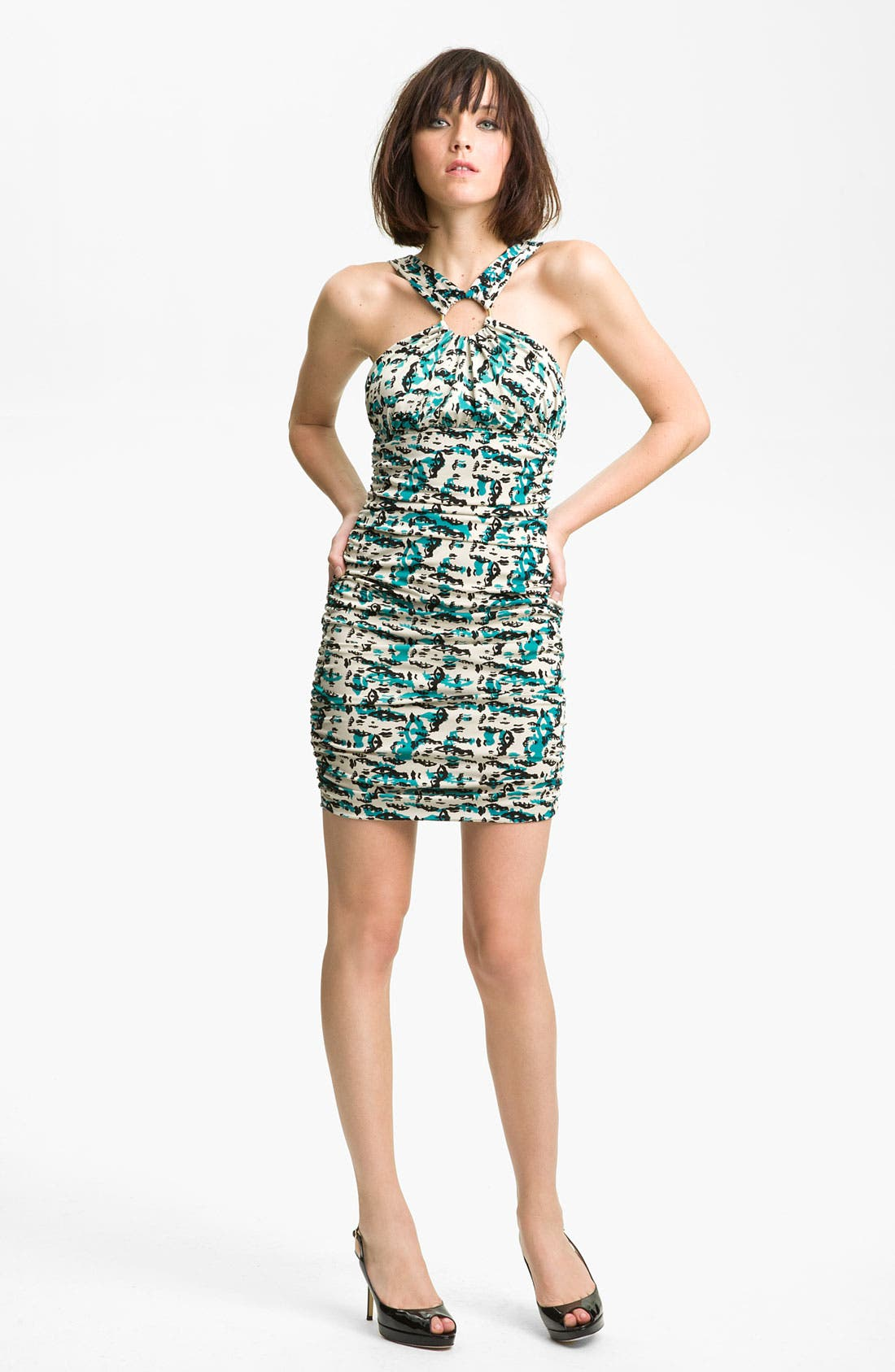 Alternate Image 1 Selected - Kelly Wearstler Eye Print Jersey Dress