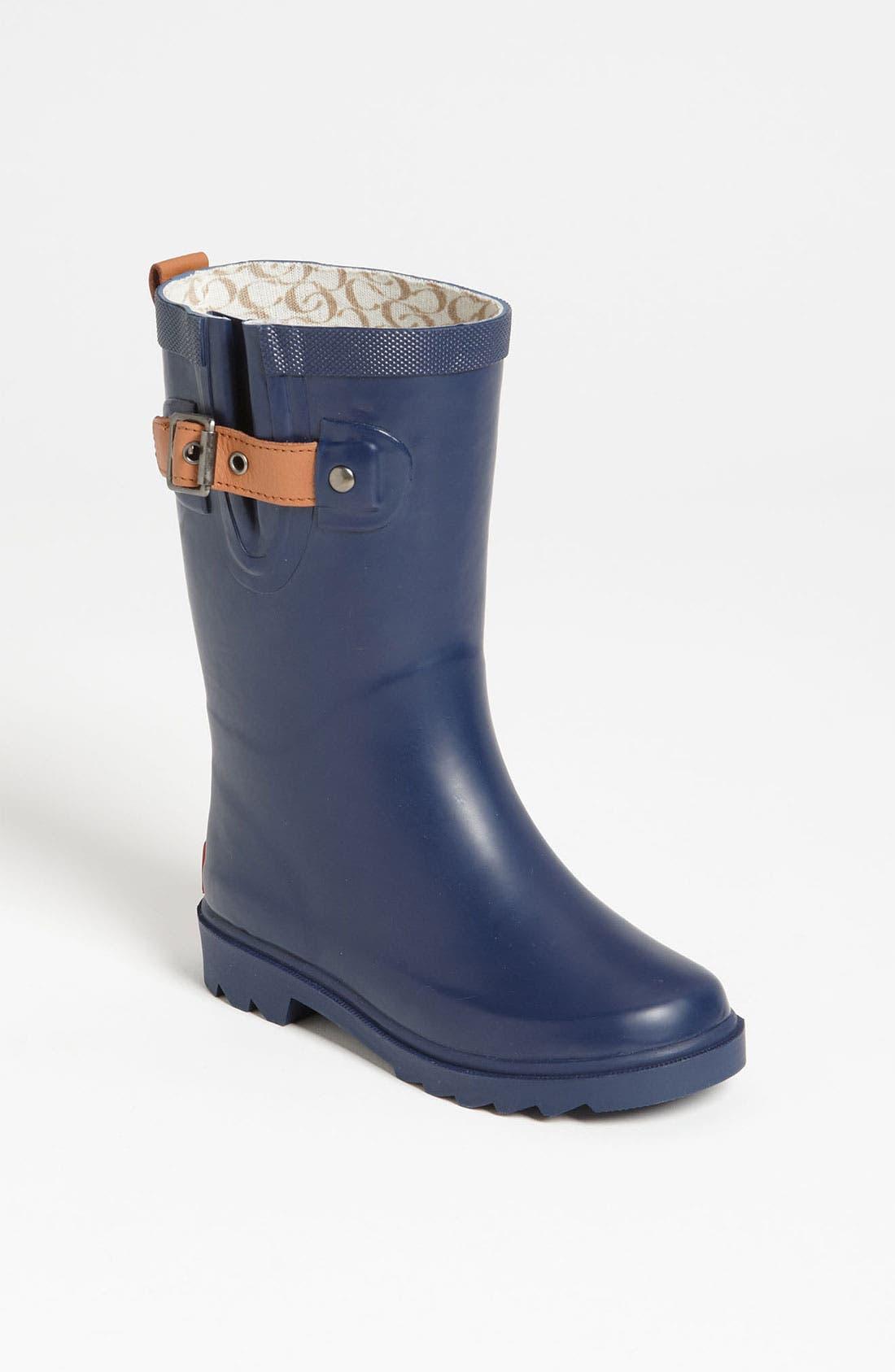 Alternate Image 1 Selected - Chooka Rubber Rain Boot (Toddler, Little Kid & Big Kid)