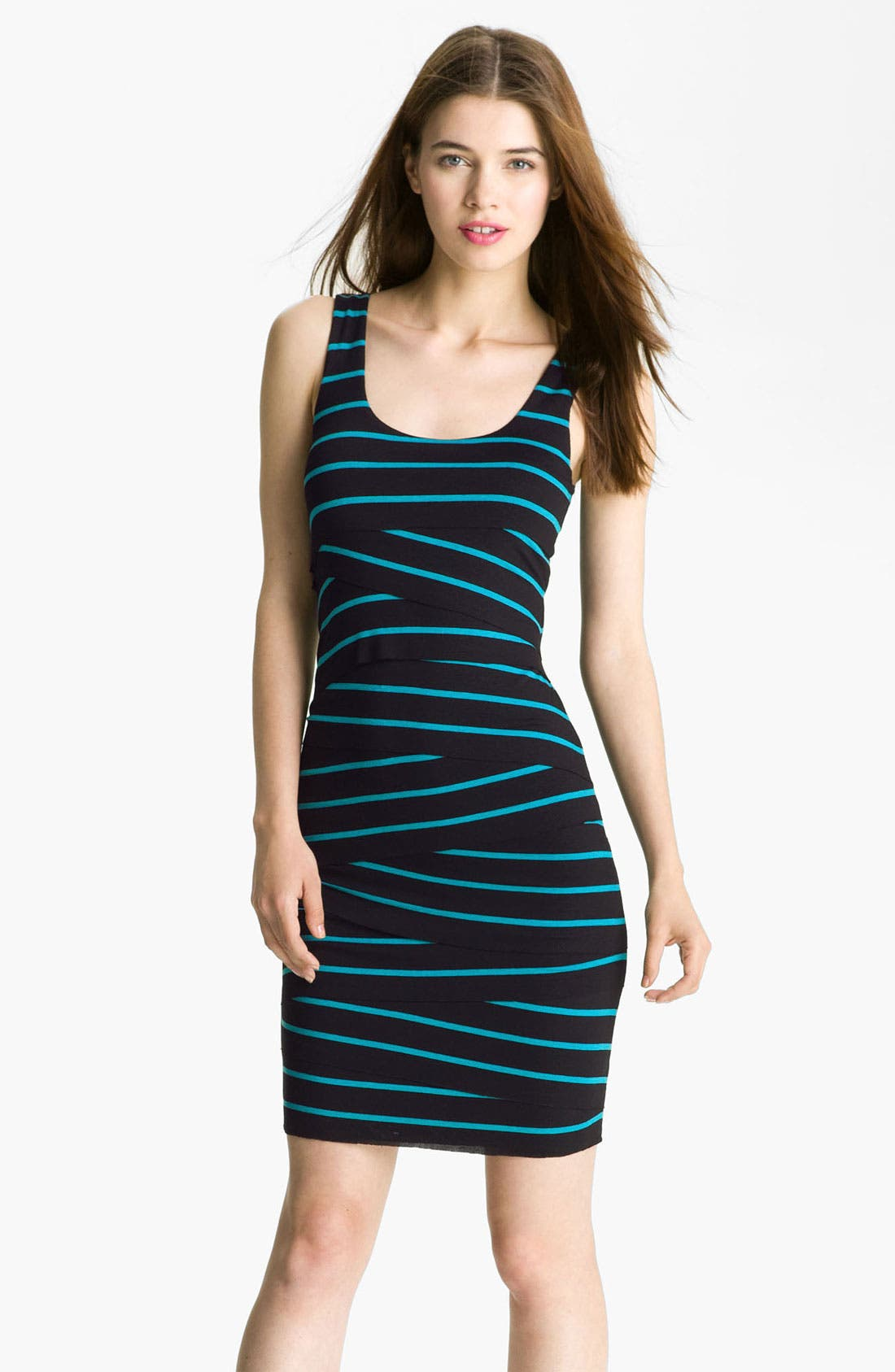 Alternate Image 1 Selected - B44 Dressed by Bailey 'Eiffel Tower' Banded Tank Dress