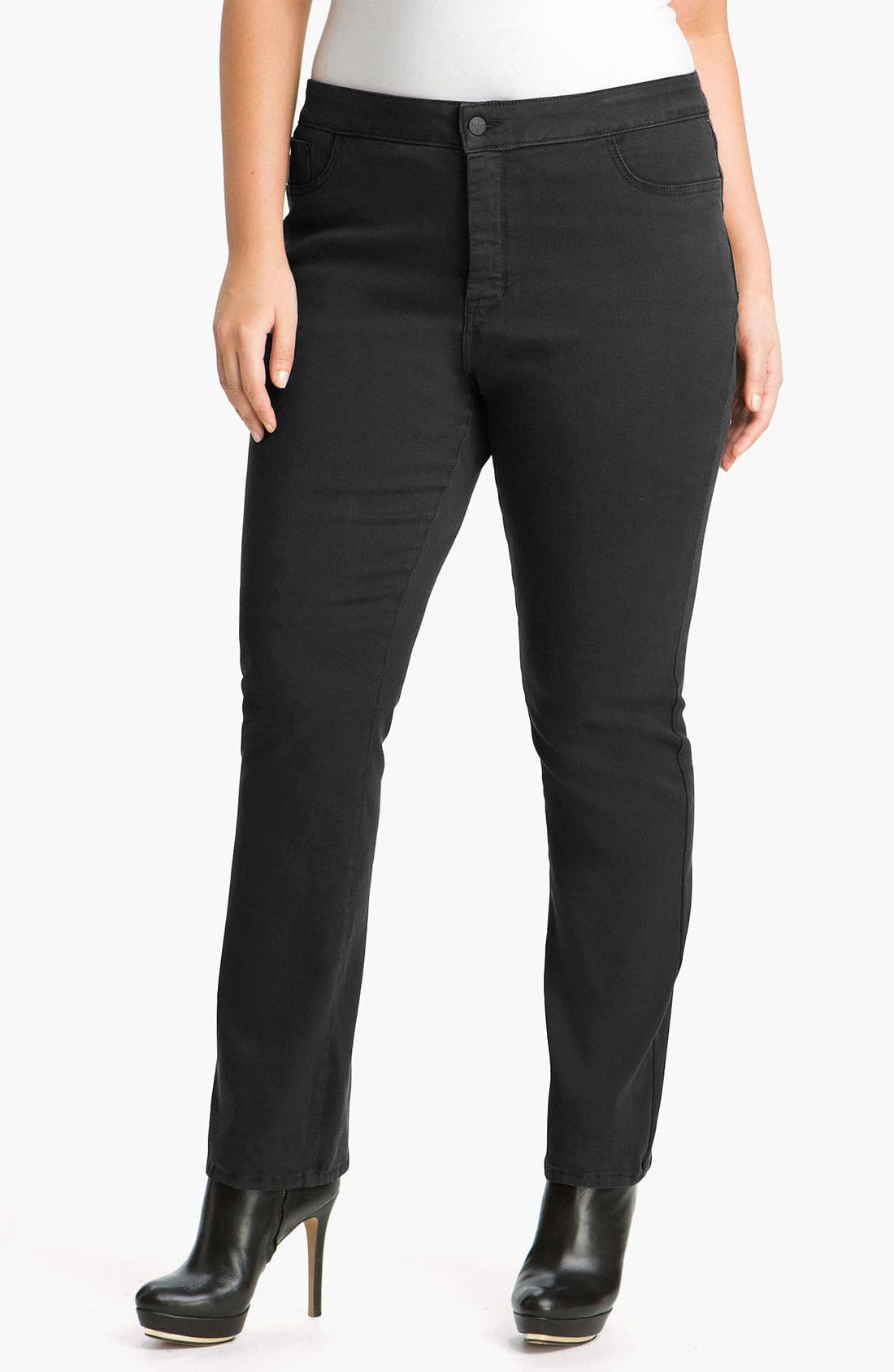 Main Image - NYDJ 'Jaclyn' Stretch Skinny Jeans (Plus)