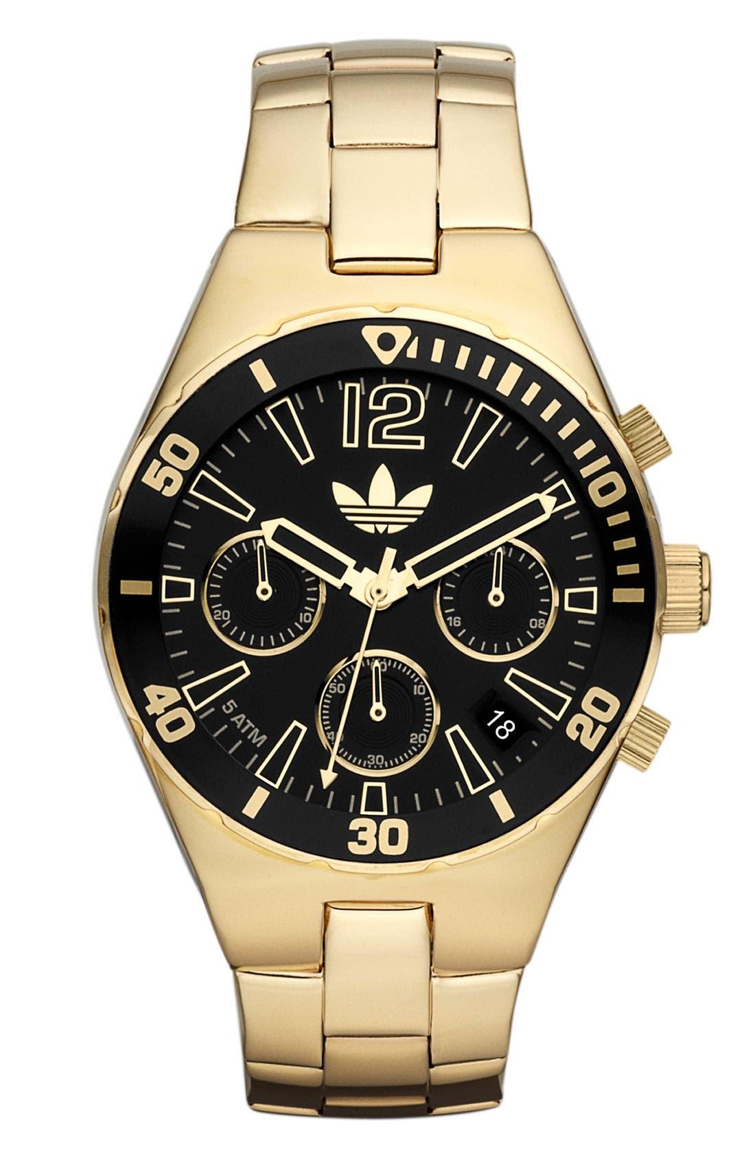 Main Image - adidas Originals 'Melbourne' Small Chronograph Bracelet Watch