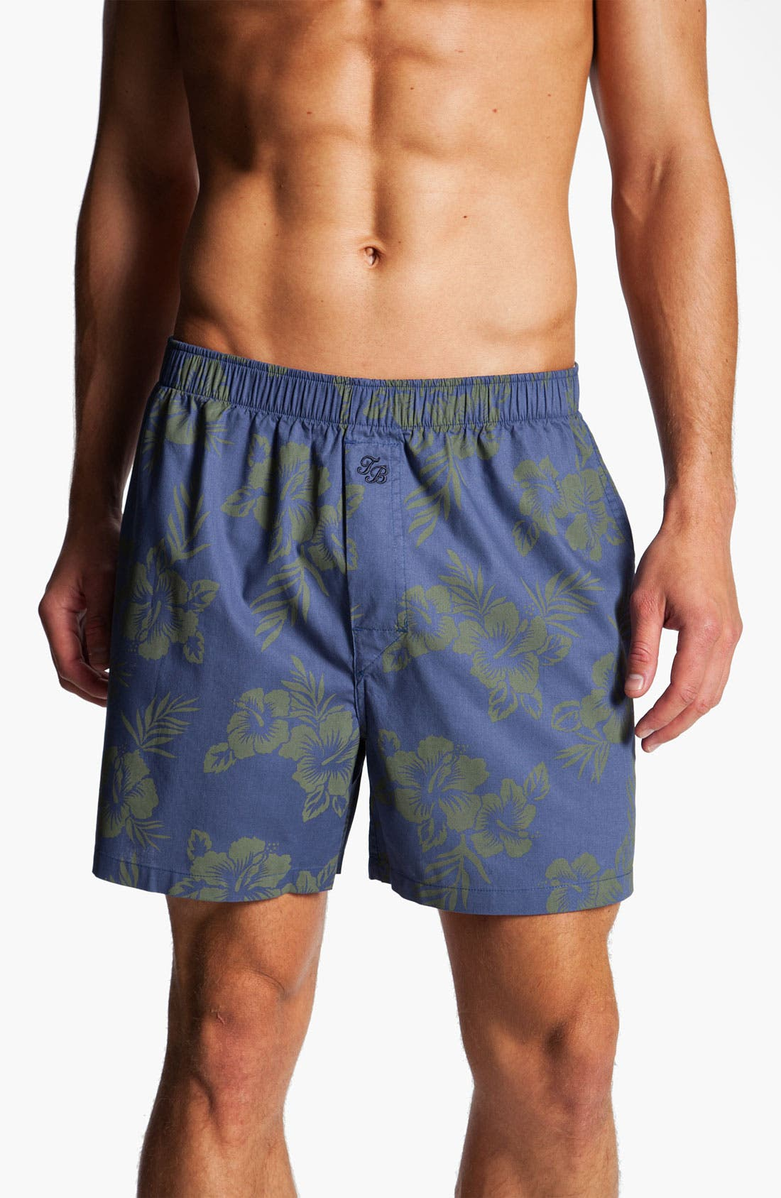Alternate Image 1 Selected - Tommy Bahama 'Oahu' Floral Print Boxers