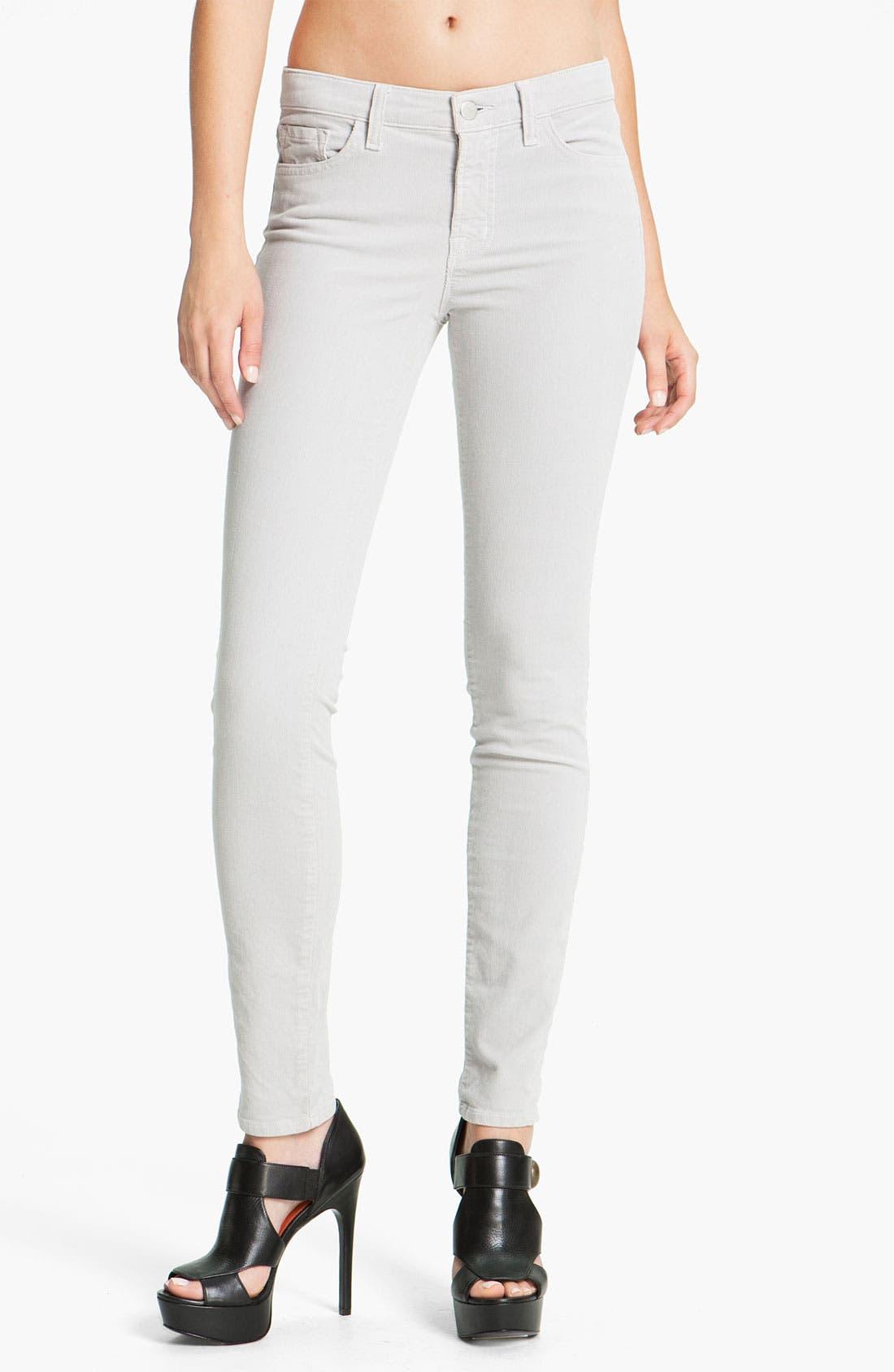 Alternate Image 1 Selected - J Brand Skinny Stretch Corduroy Pants