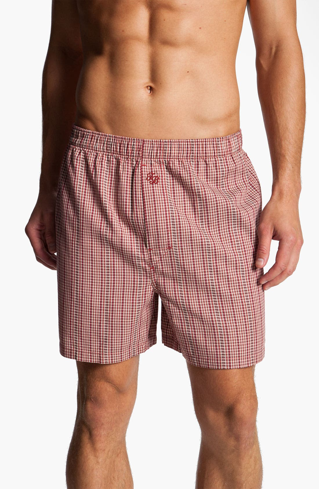 Alternate Image 4  - Tommy Bahama Print Cotton Boxers (Assorted 2-Pack)