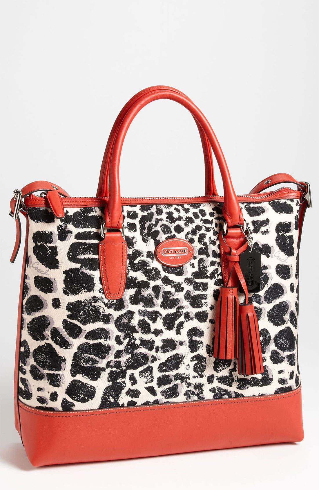 Alternate Image 1 Selected - COACH 'Legacy - Rory' Ocelot Print Satchel