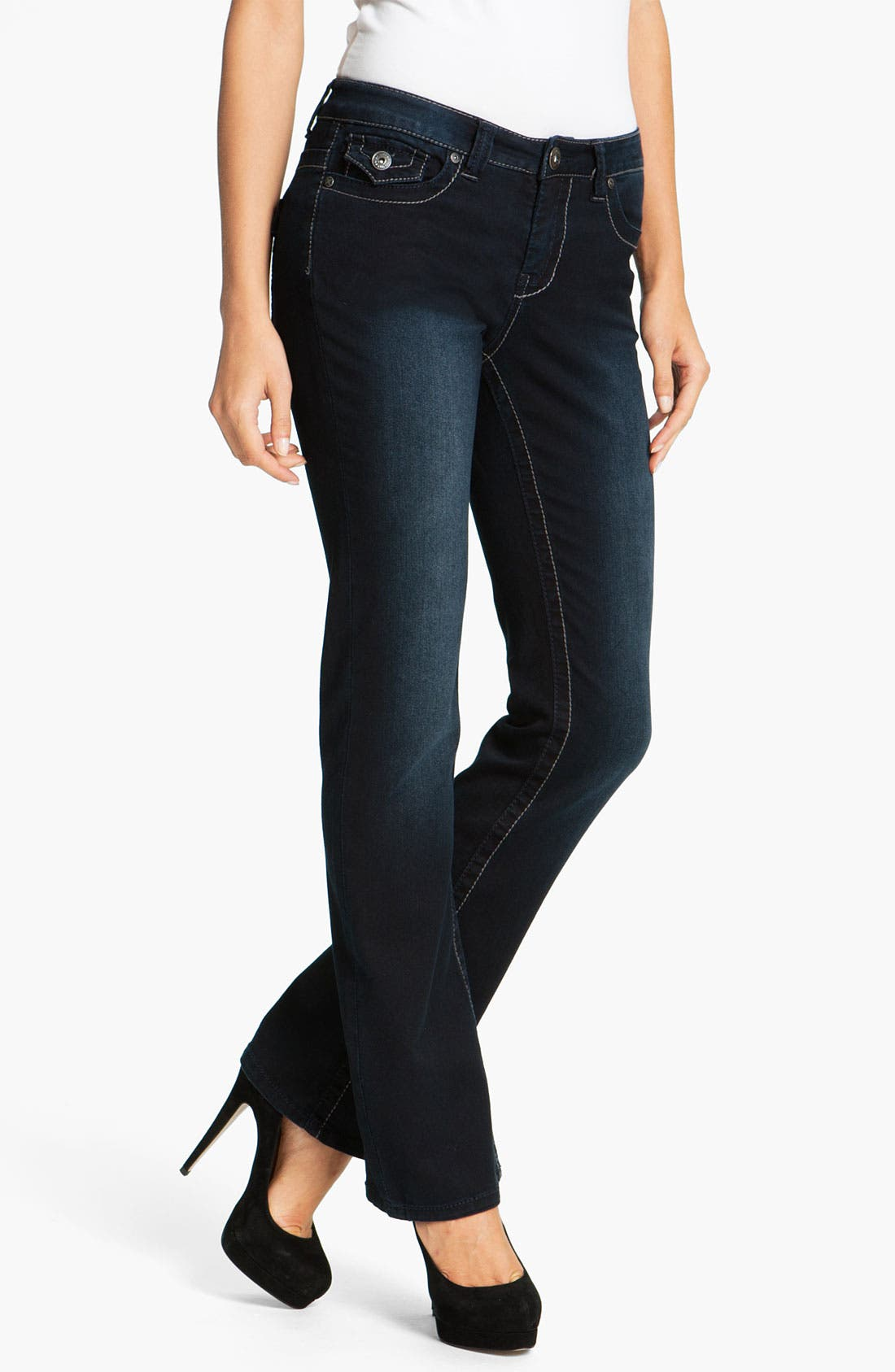 Alternate Image 2  - Liverpool Jeans Company 'Rita' Bootcut Stretch Jeans (Petite) (Online Exclusive)