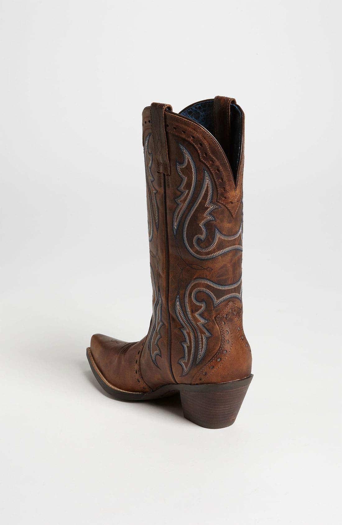 Alternate Image 2  - Ariat 'Western Heritage X Toe' Boot