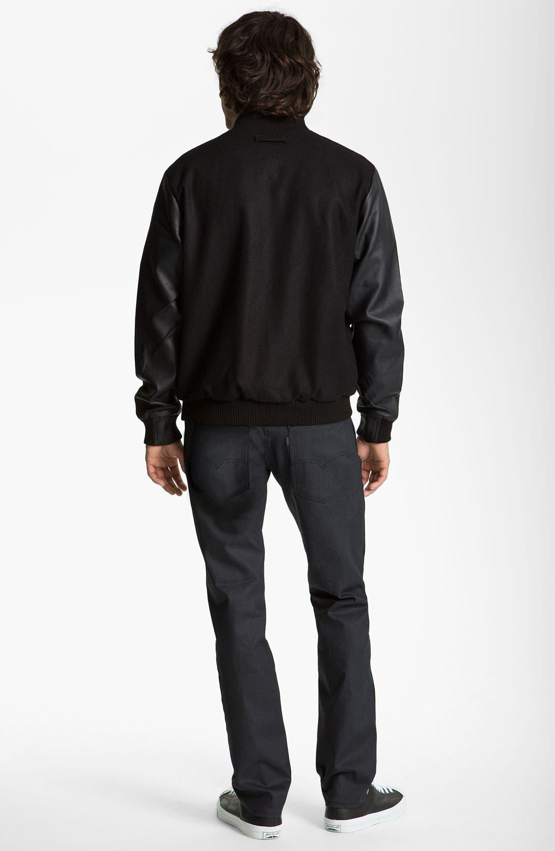 Alternate Image 6  - Levi's® 'Matchstick' Slim Straight Leg Jeans (Mayfield)