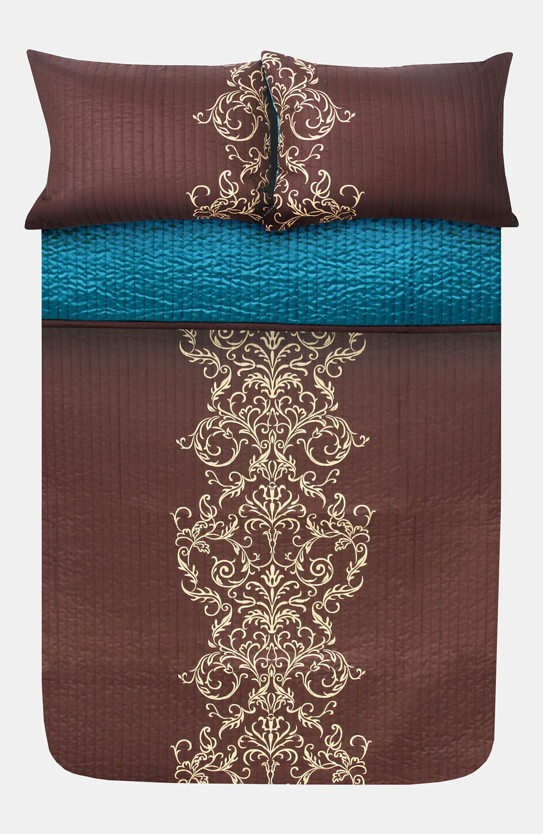 Alternate Image 2  - Blissliving Home 'Maxwell' 300 Thread Count Coverlet Set (Online Only)