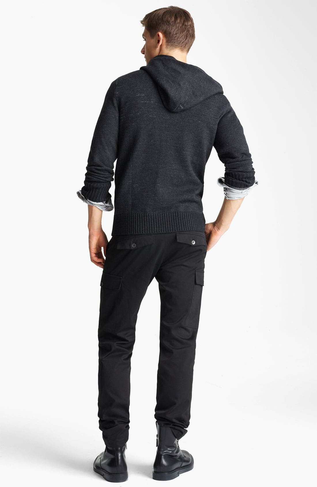 Alternate Image 5  - Field Scout Merino Wool Hooded Sweater