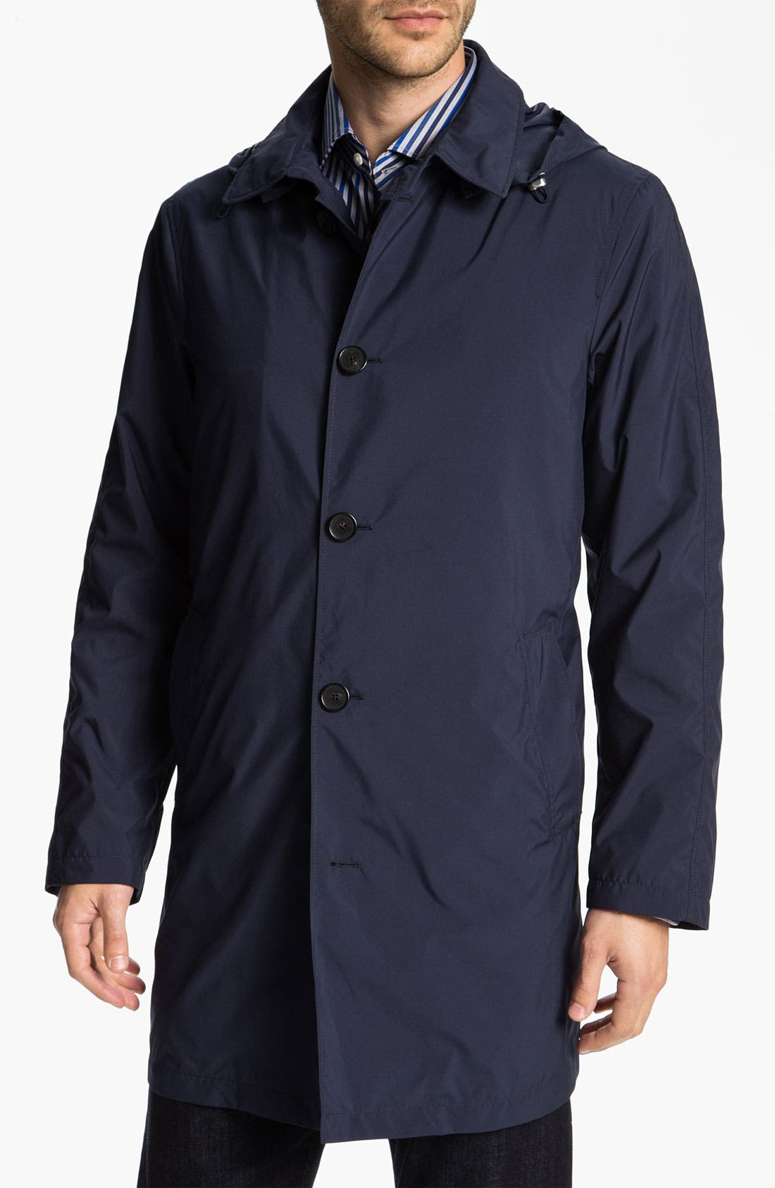 Alternate Image 1 Selected - Allegri 'City' Hooded Raincoat