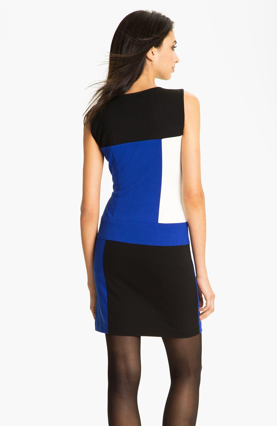Alternate Image 2  - Vince Camuto Colorblock Sheath Dress (Online Exclusive)