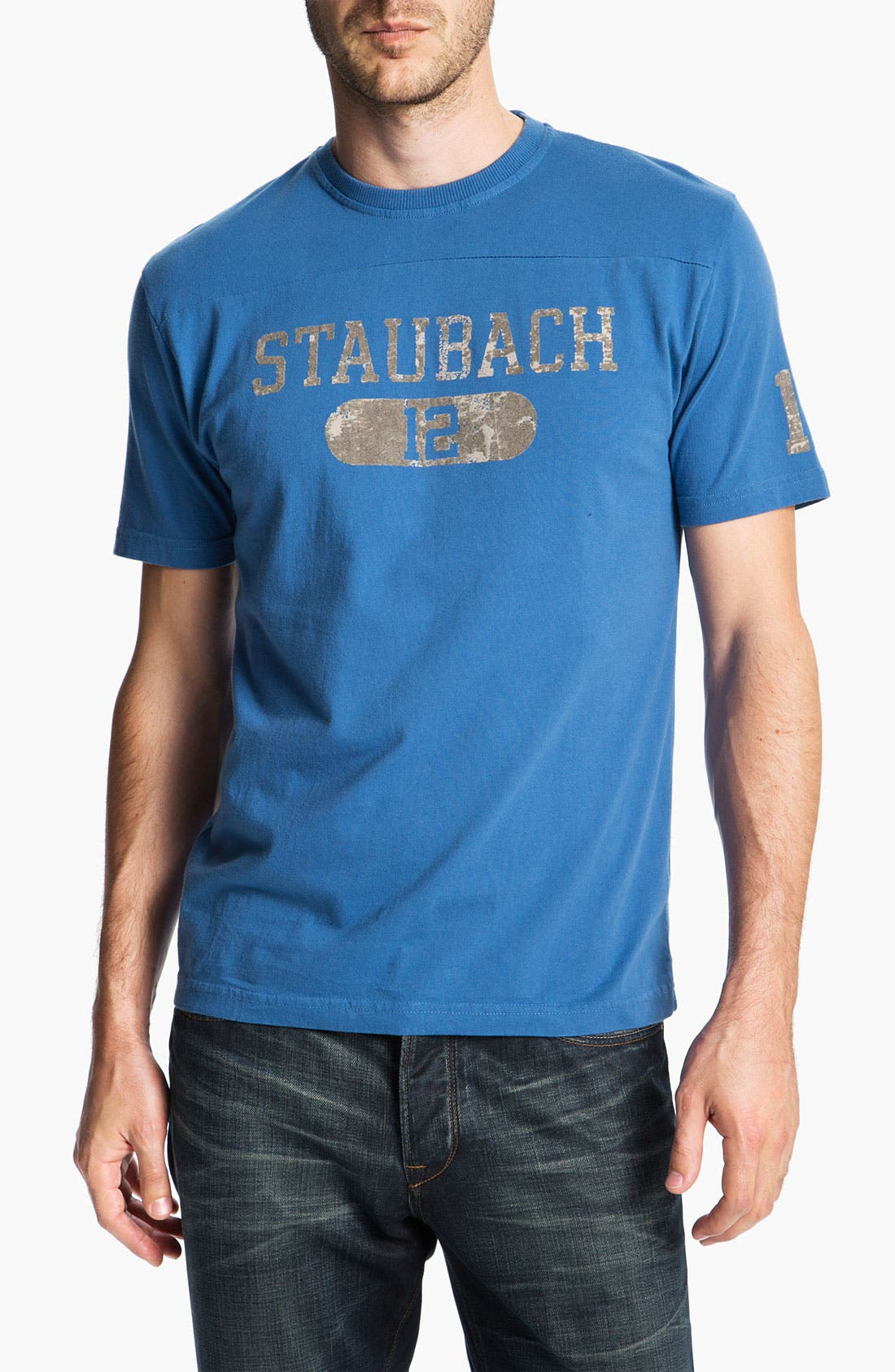 Main Image - Red Jacket 'Roger Staubach - Over Under' T-Shirt