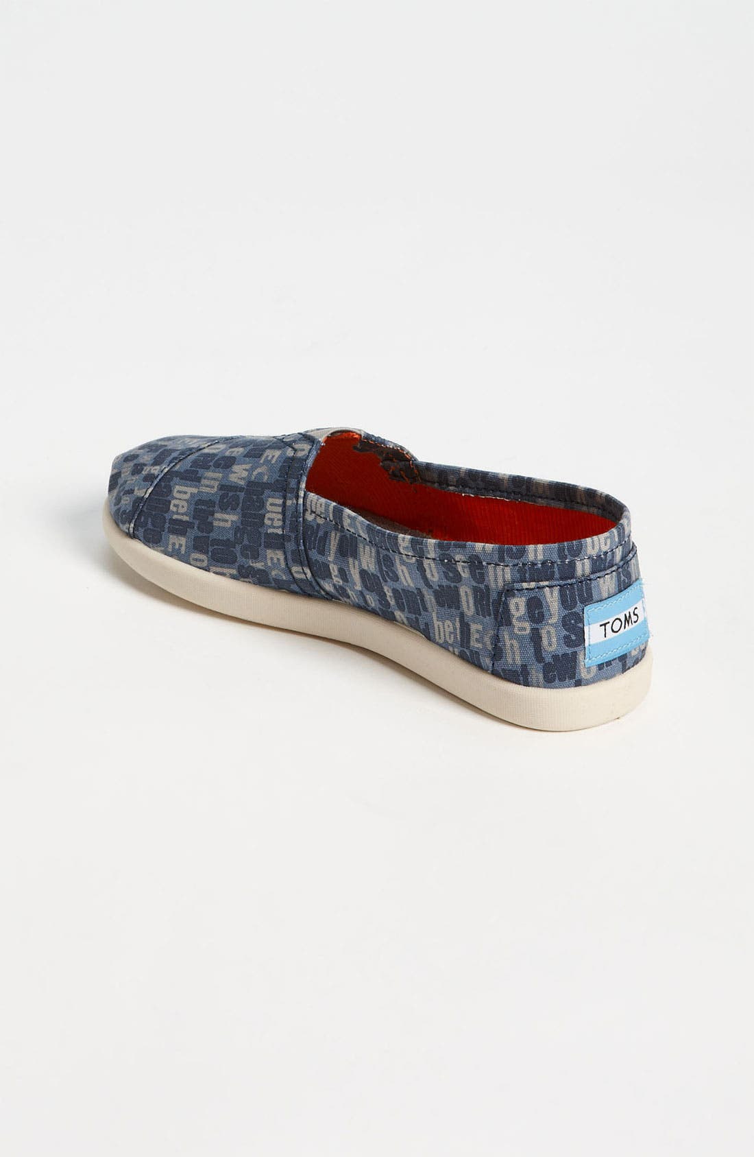 Alternate Image 2  - TOMS 'Classic Youth - Ash' Slip-On (Toddler, Little Kid & Big Kid)