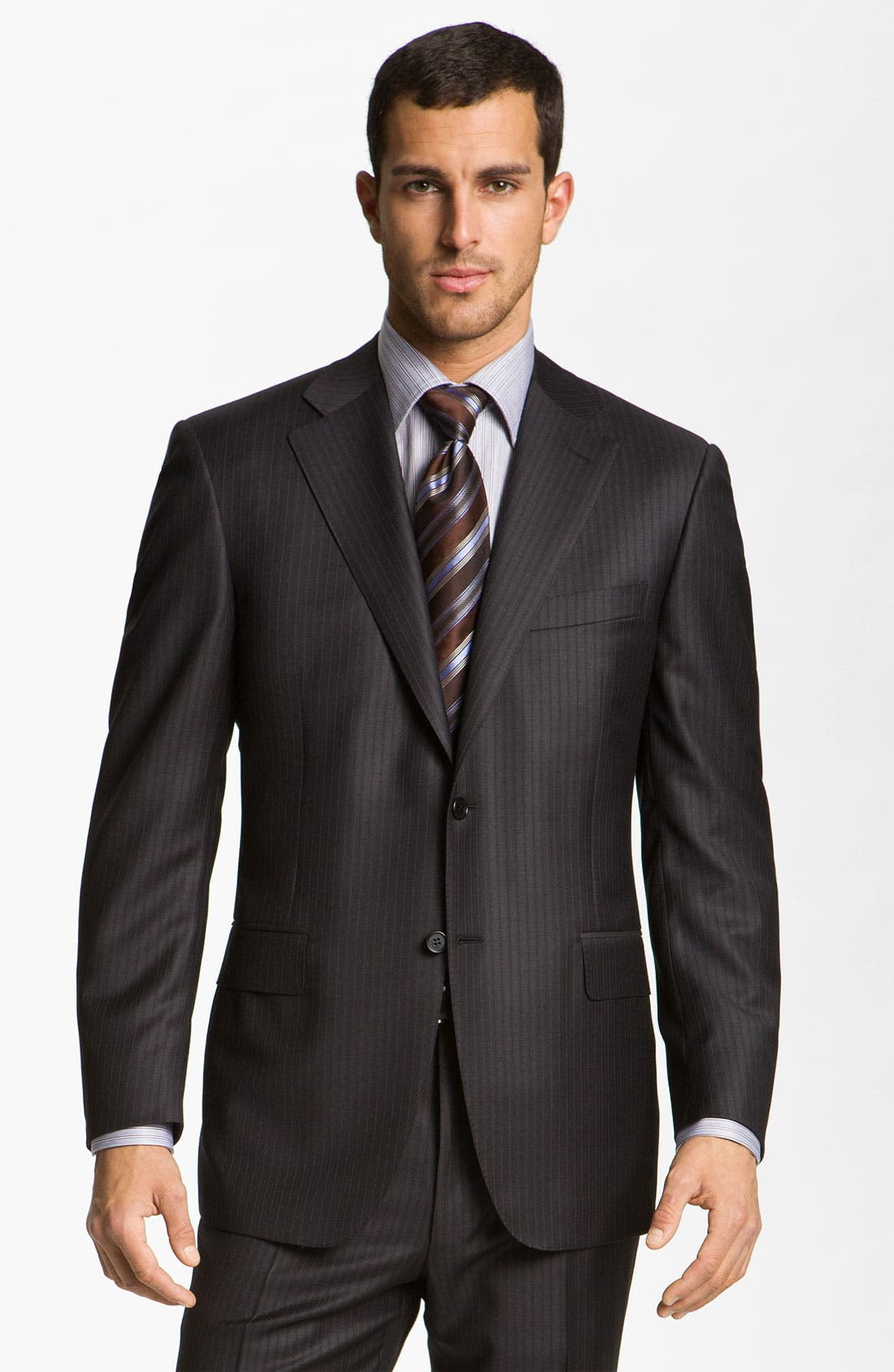 Alternate Image 1 Selected - Canali Wool Suit