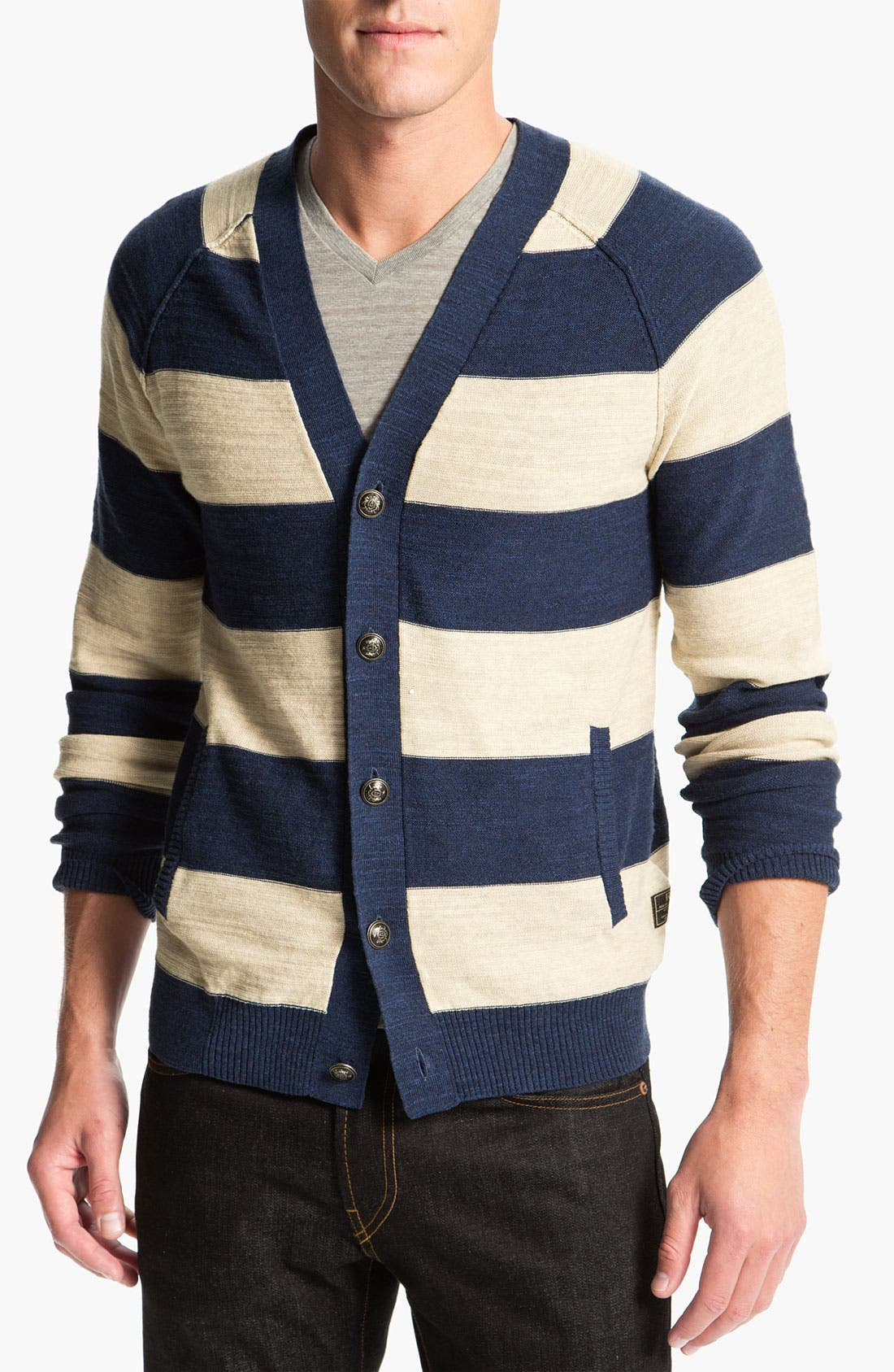 Main Image - R44 Rogan Standard Issue Stripe Cardigan