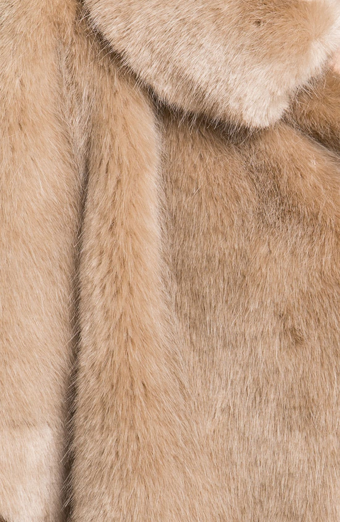 Alternate Image 3  - Ted Baker London Crop Faux Fur Jacket