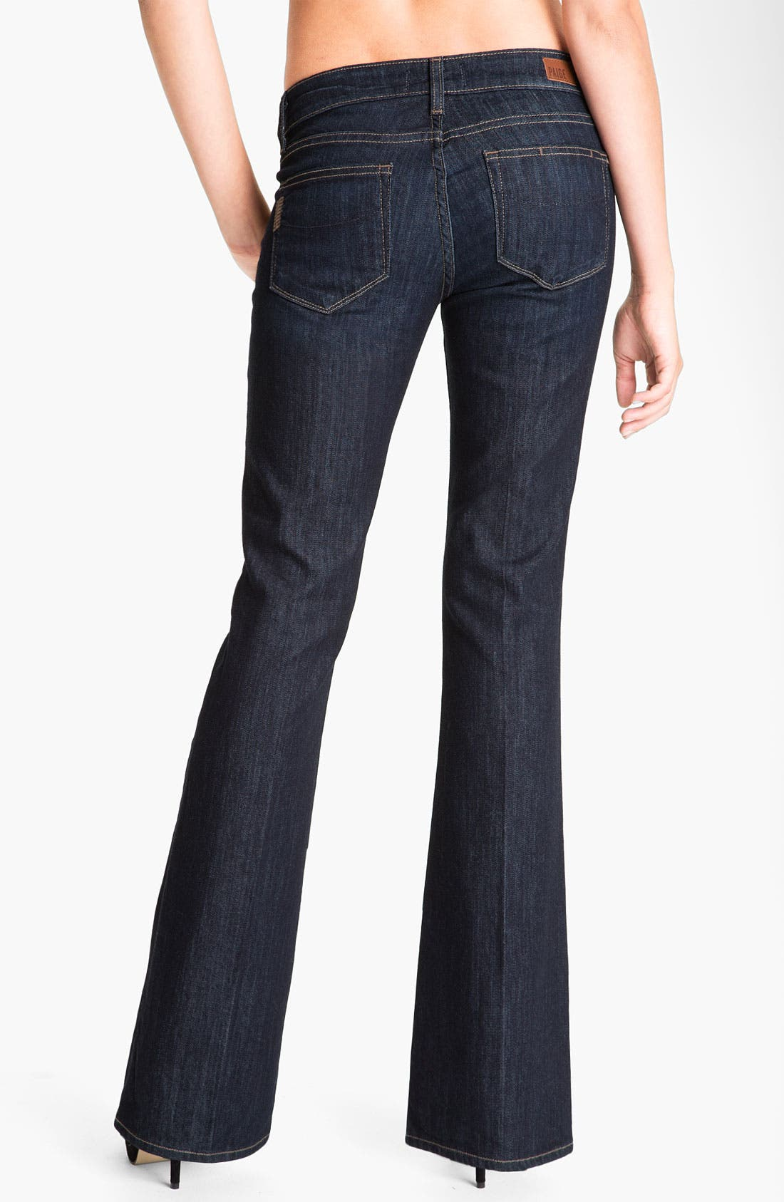 Alternate Image 2  - Paige Denim 'Skyline' Bootcut Jeans (Dream) (Petite)