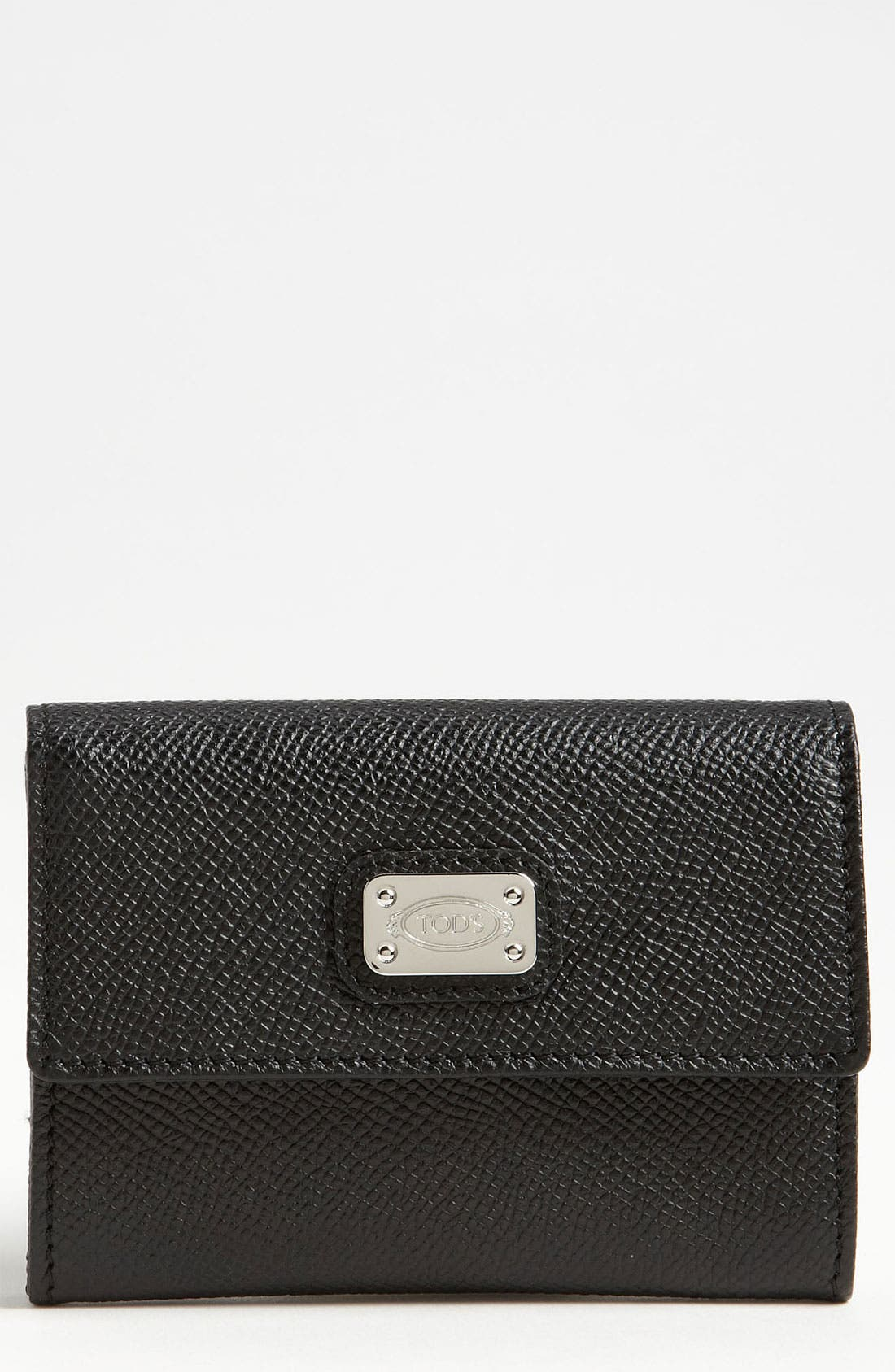 Alternate Image 1 Selected - Tod's 'D Styling - New Mini' Leather Wallet