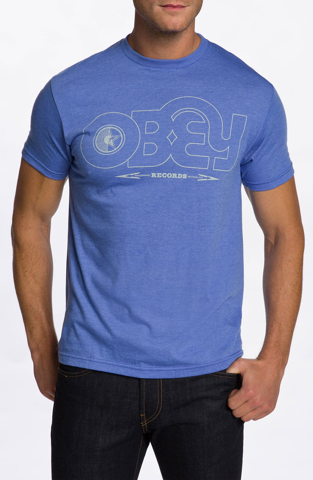 Alternate Image 1 Selected - Obey 'Voices Records' T-Shirt