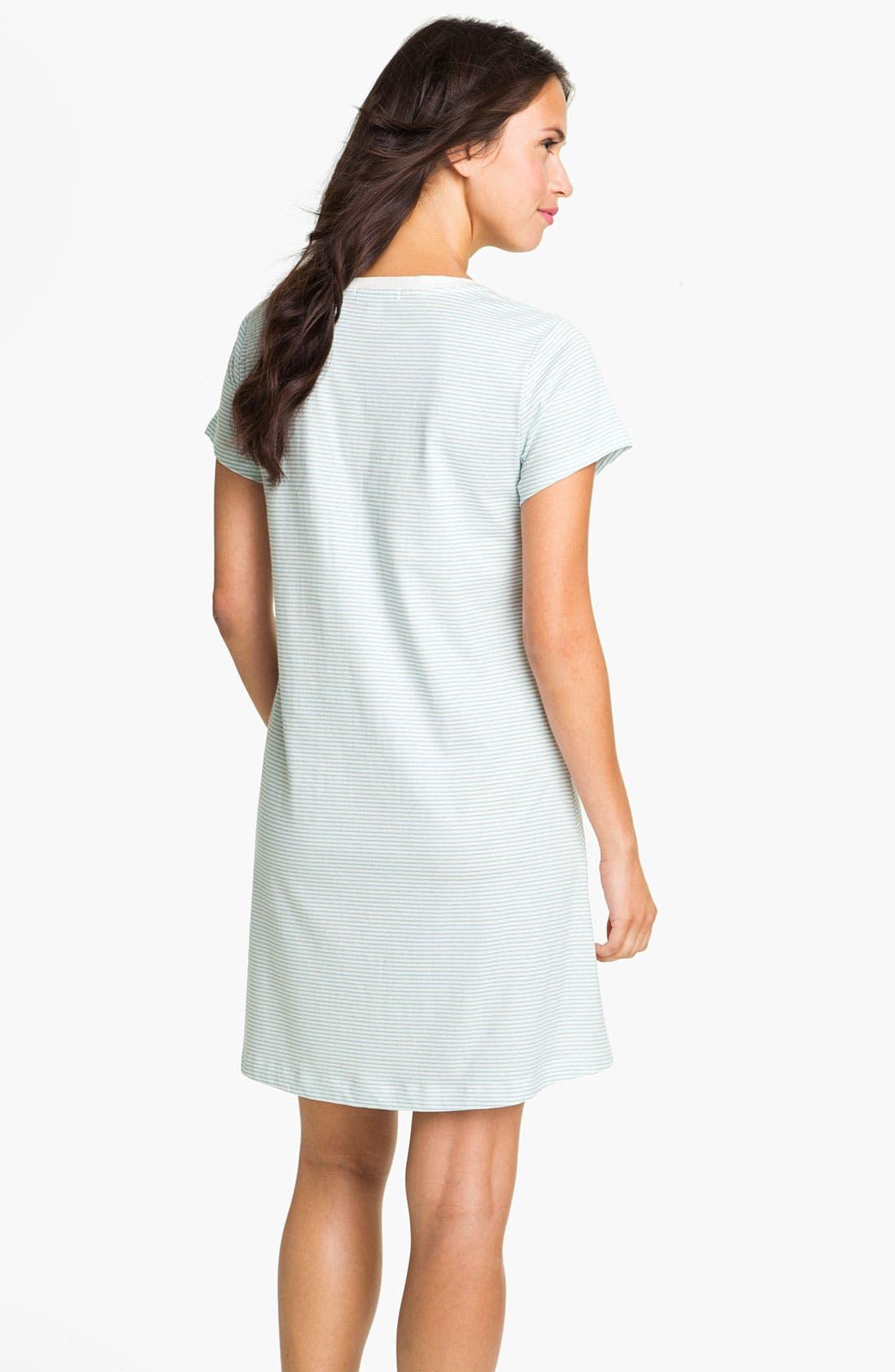 Alternate Image 2  - Carole Hochman Designs Short Sleeve Sleep Shirt