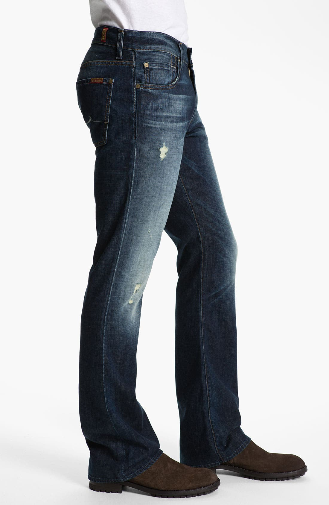 Alternate Image 3  - 7 For All Mankind® 'Brett' Bootcut Jeans (Ashby Ave)