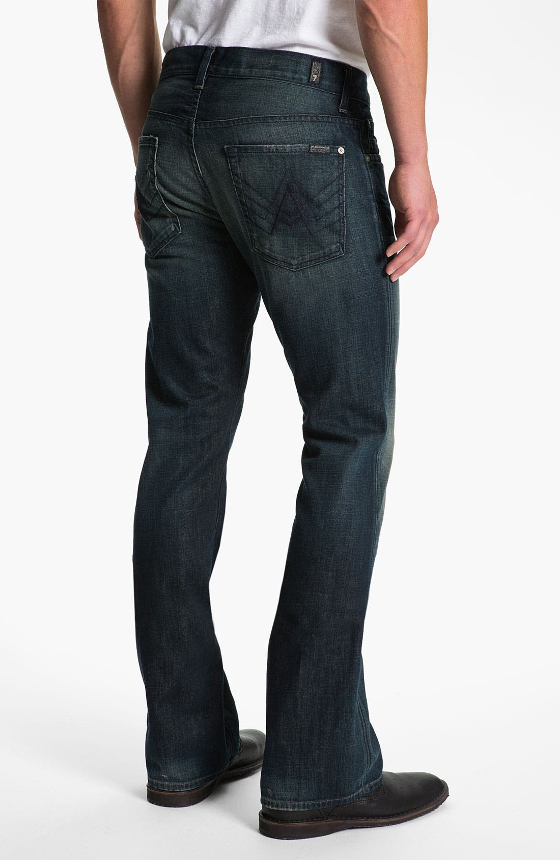 Alternate Image 1 Selected - 7 For All Mankind® 'Brett' Bootcut Jeans (Cedar Street)